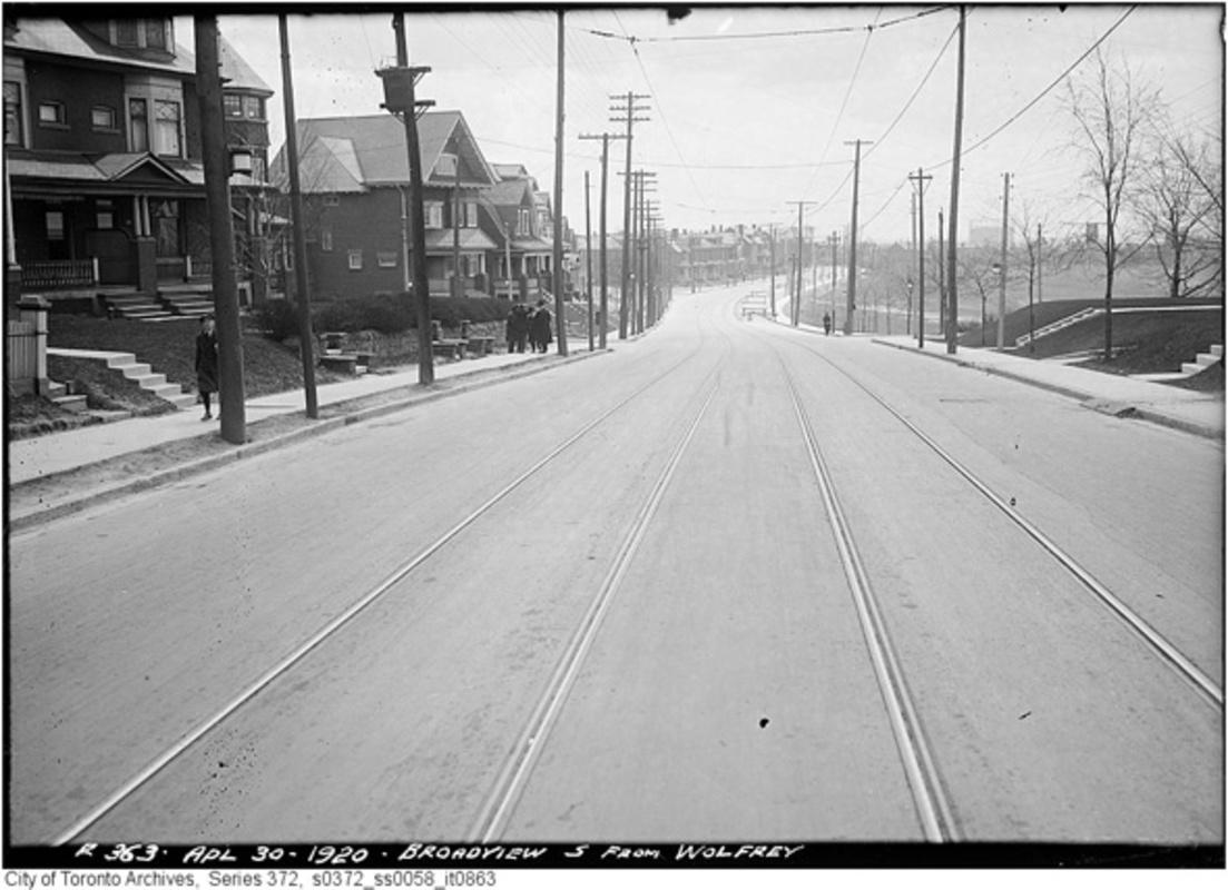 Broadview Avenue History Photos