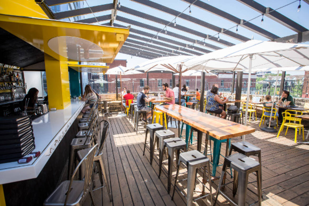 The Top 5 New Patios On The 501 Streetcar Line