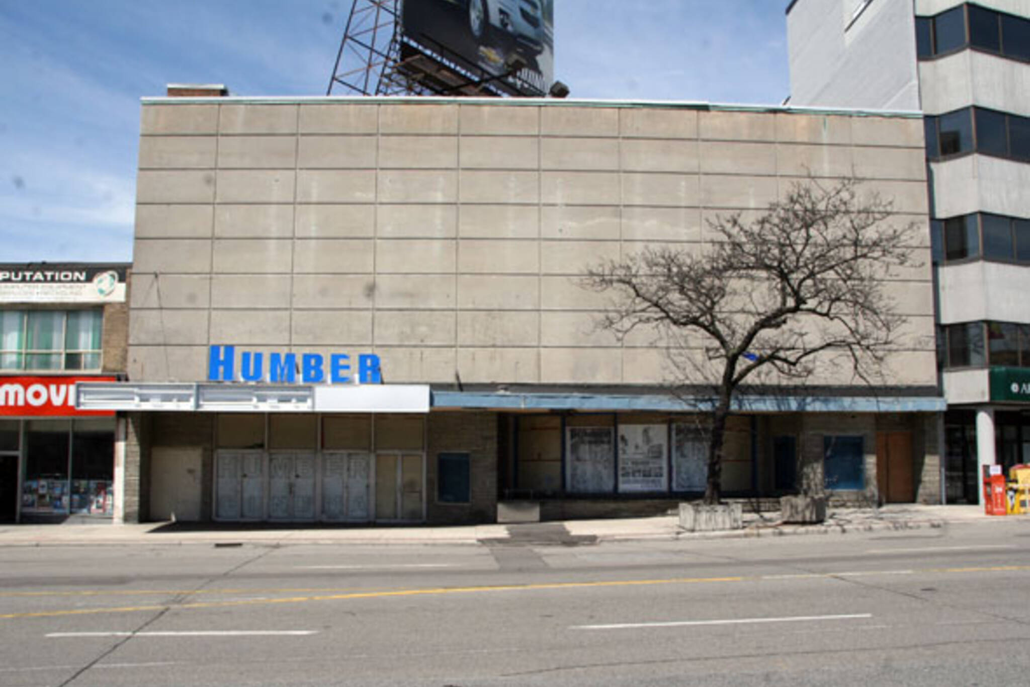 humber cinema closed bloor street