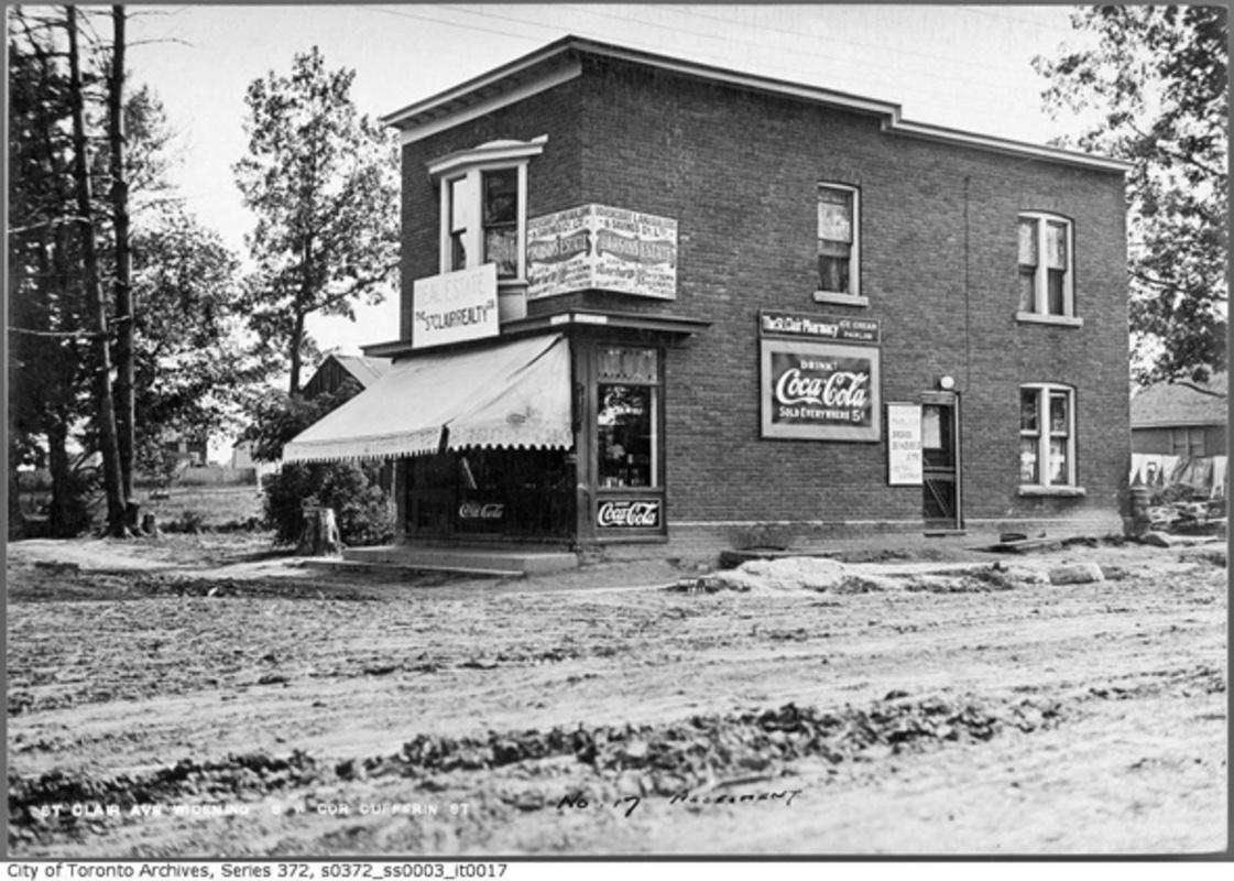 history variety stores Toronto