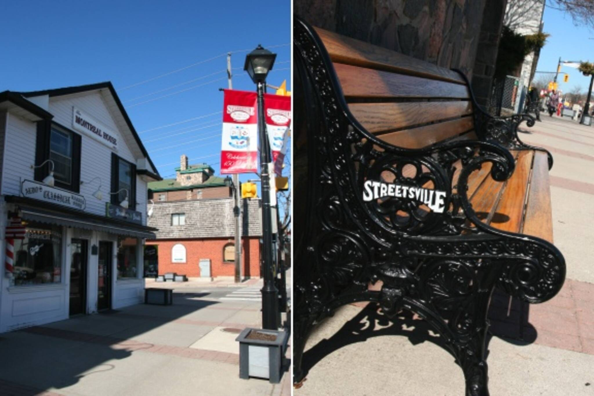Streetsville Bench
