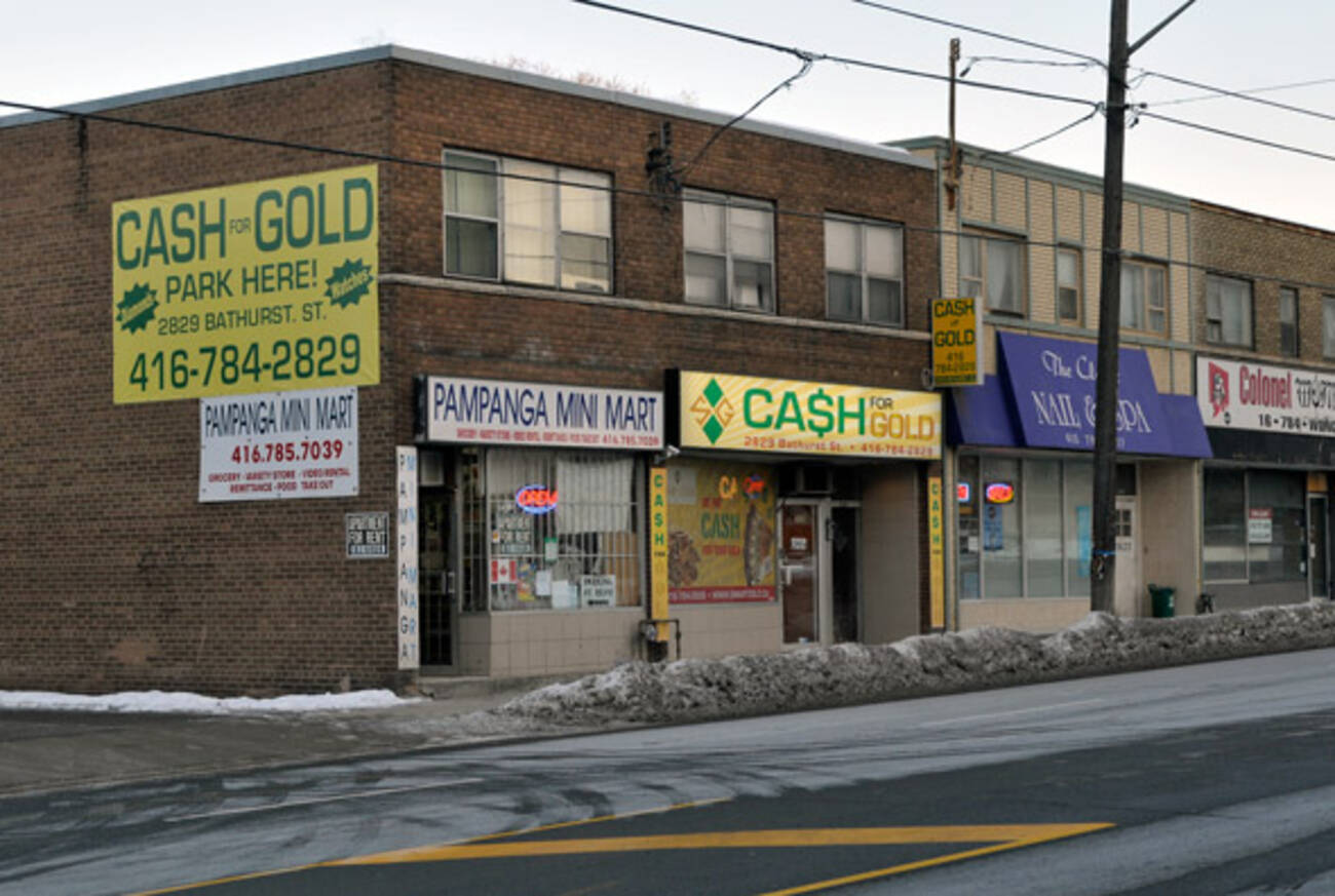 The Strange World Of Toronto S Cash For Gold Stores