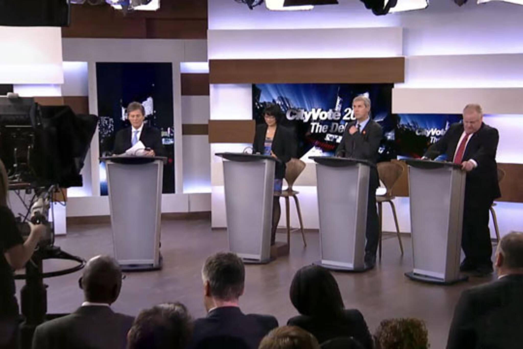 Toronto mayoral debate