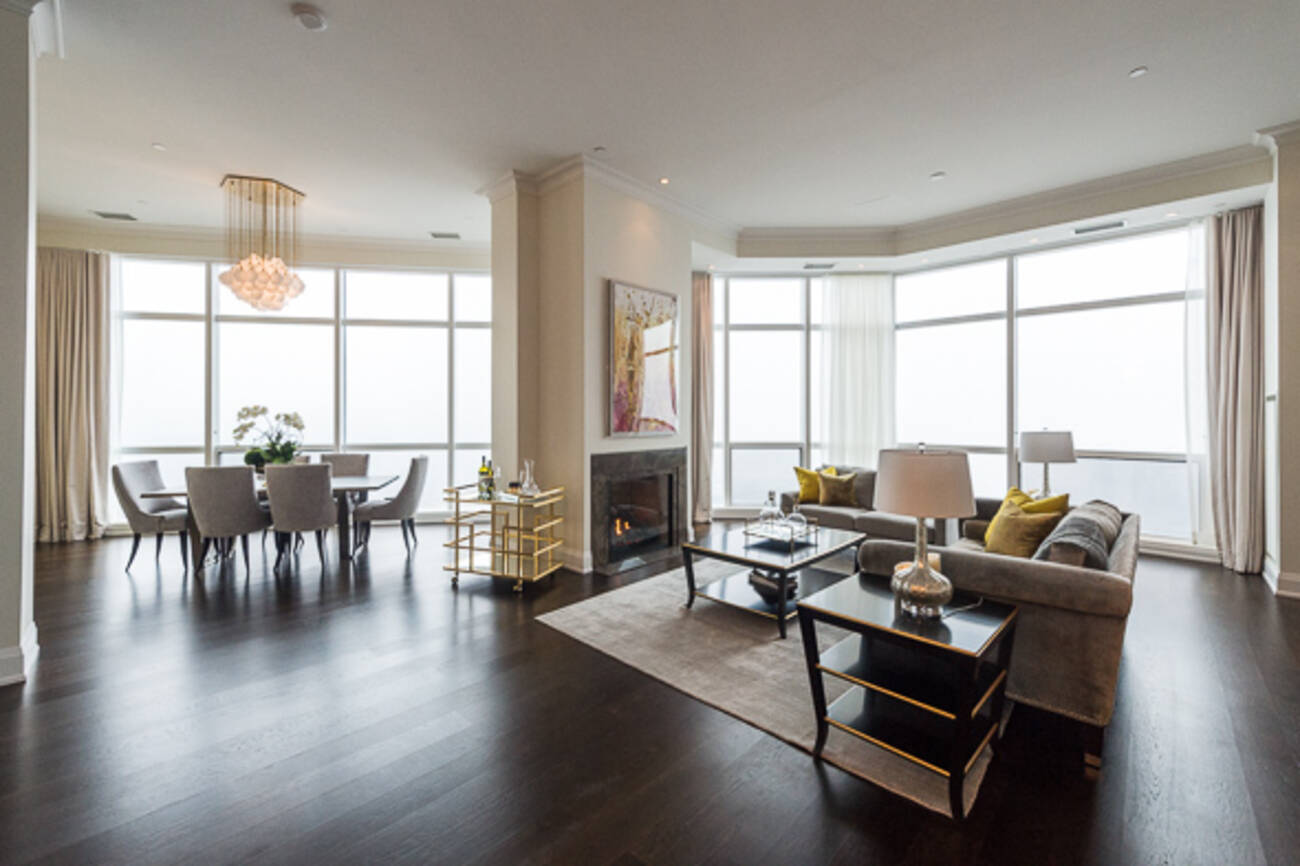 What Toronto S Tallest Penthouse Condo Looks Like