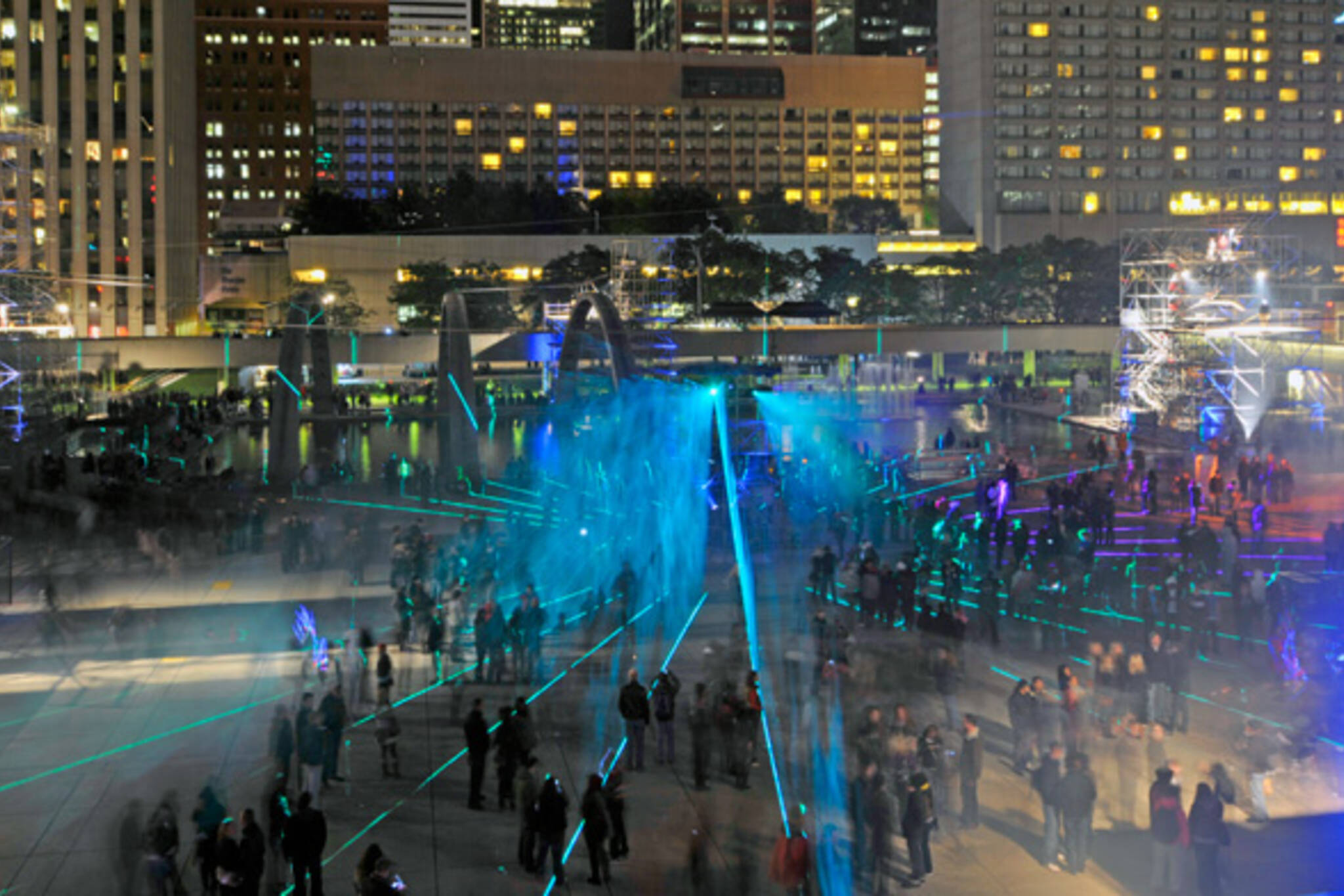 Photos Nuit Blanche Toronto 2011