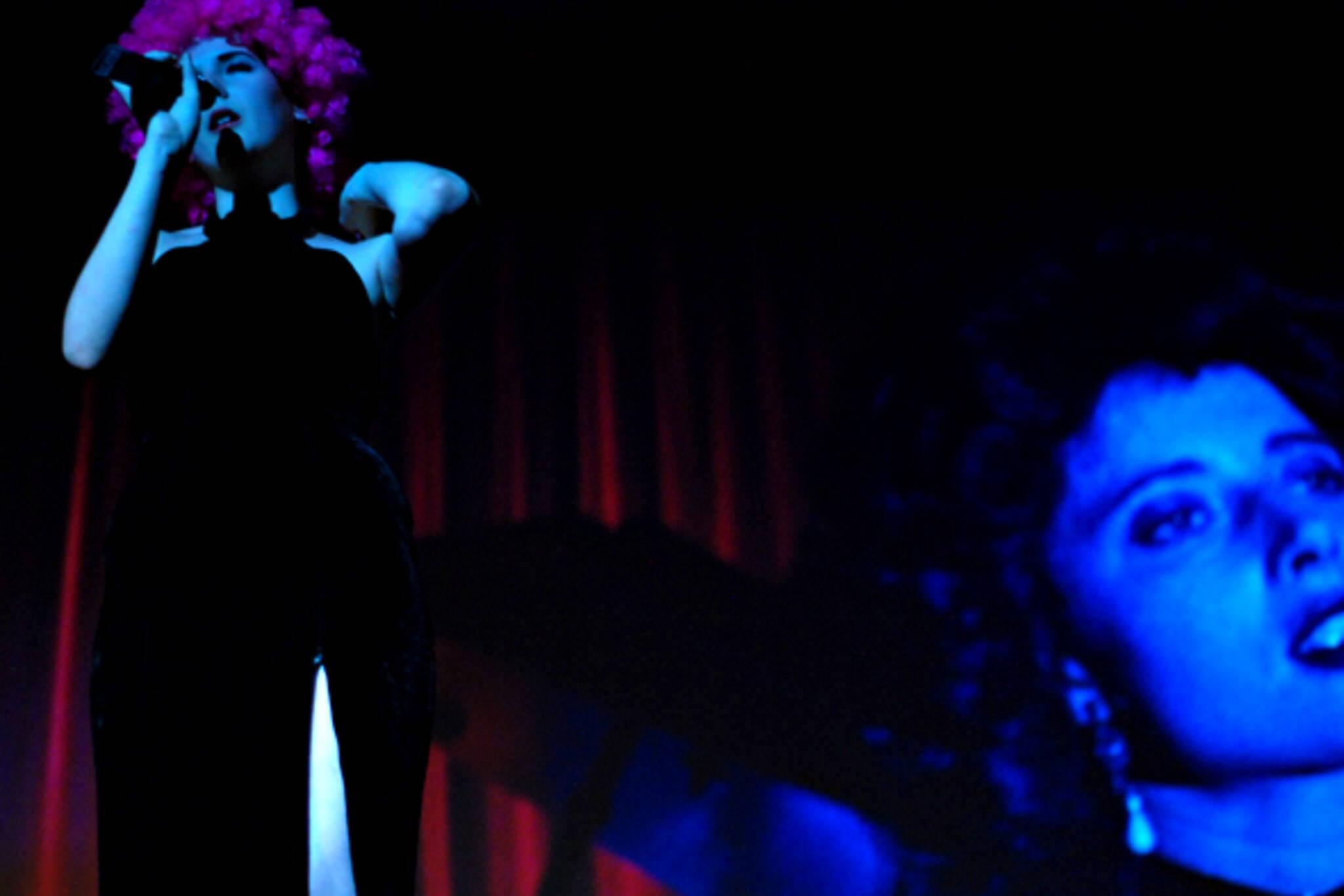 Blue Velvet fringe