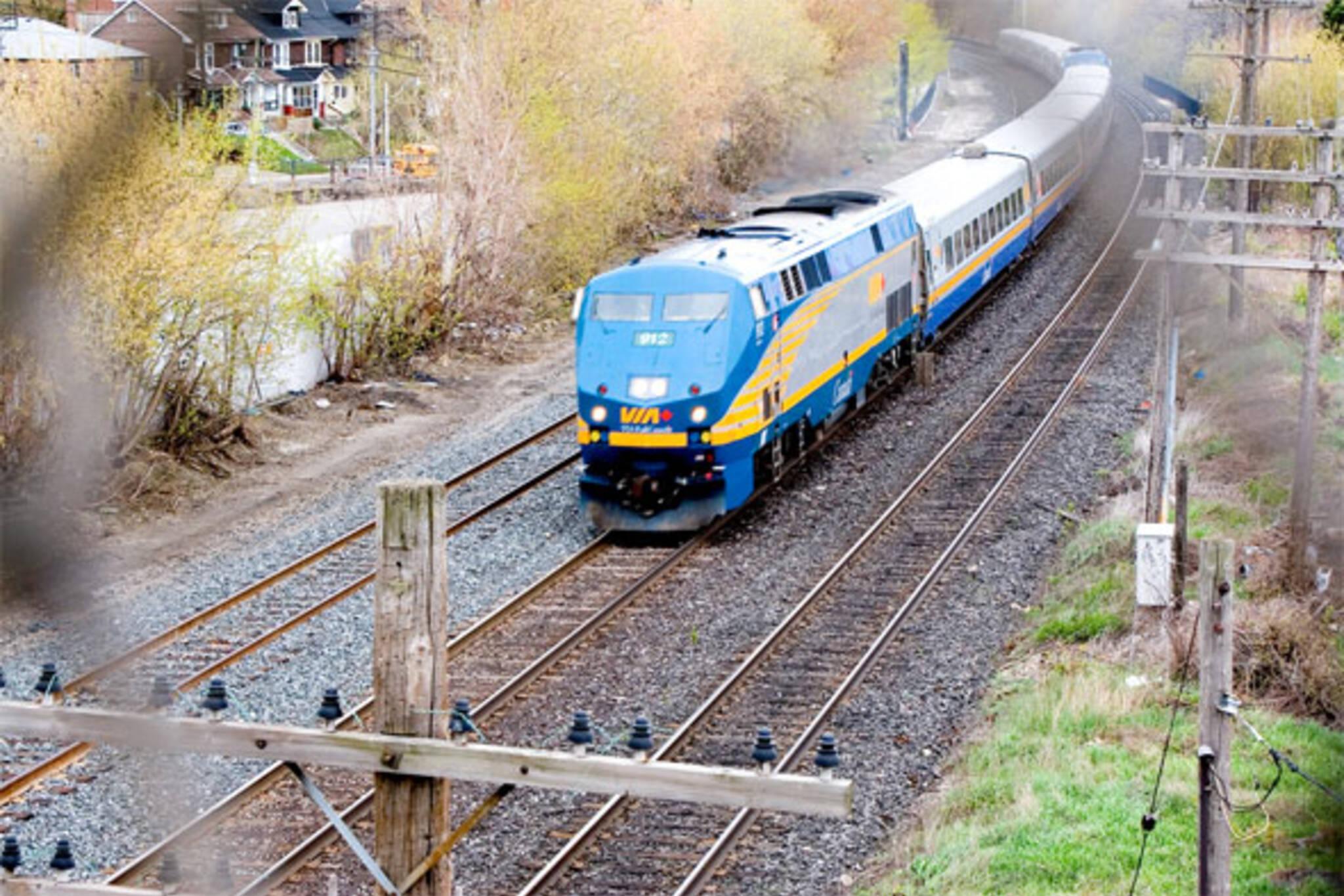 VIA rail upgrades