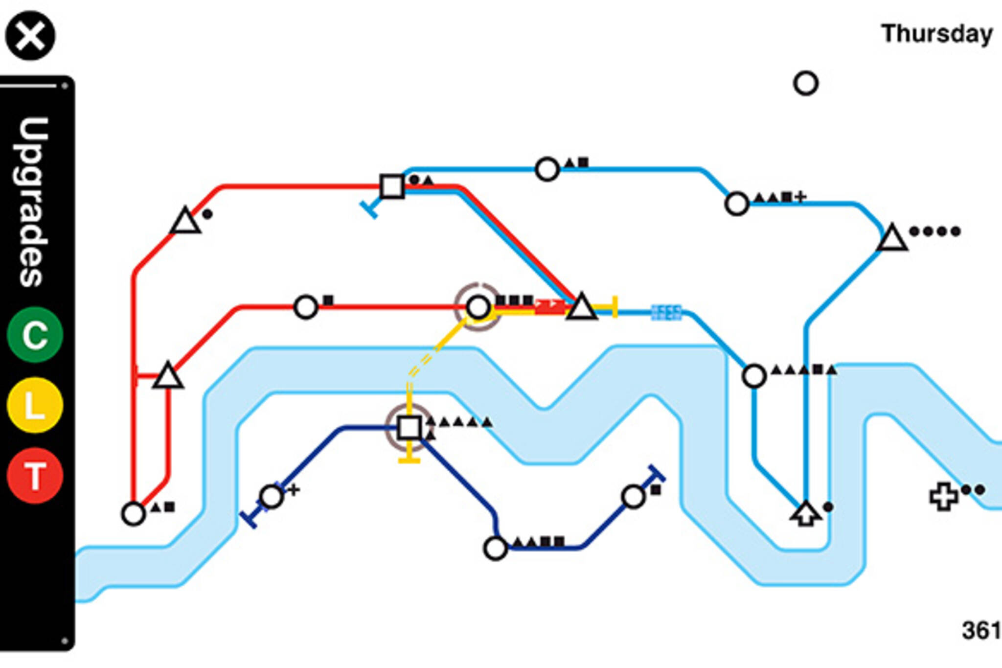 Mini metro subway app