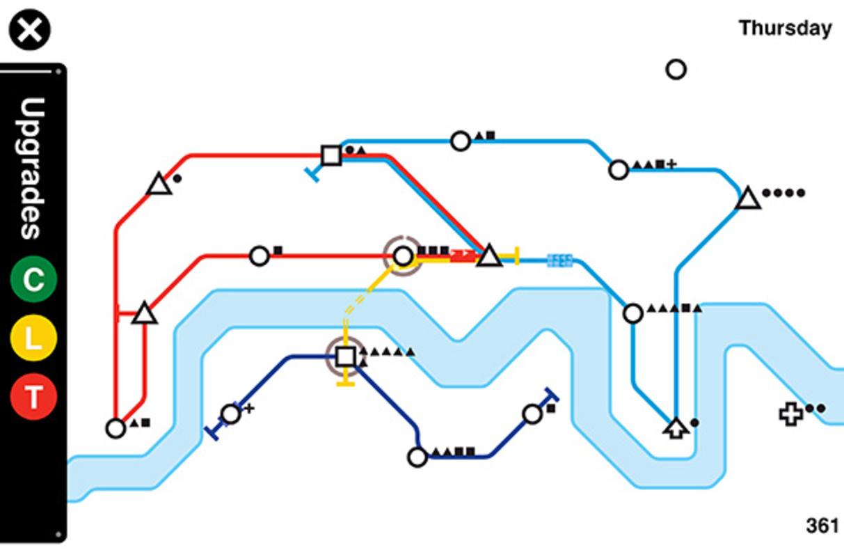 Mini metro subway app