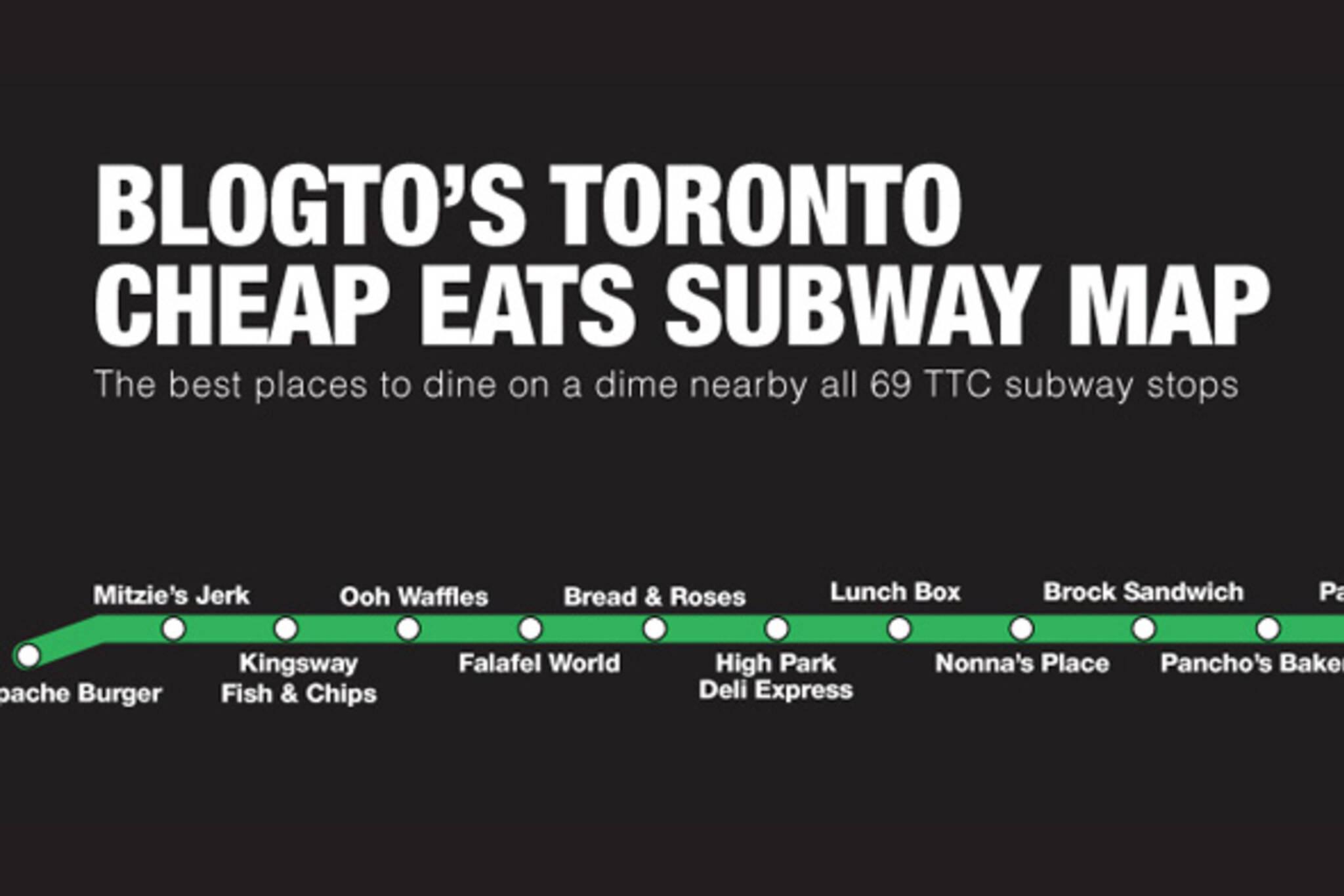 ttc subway map