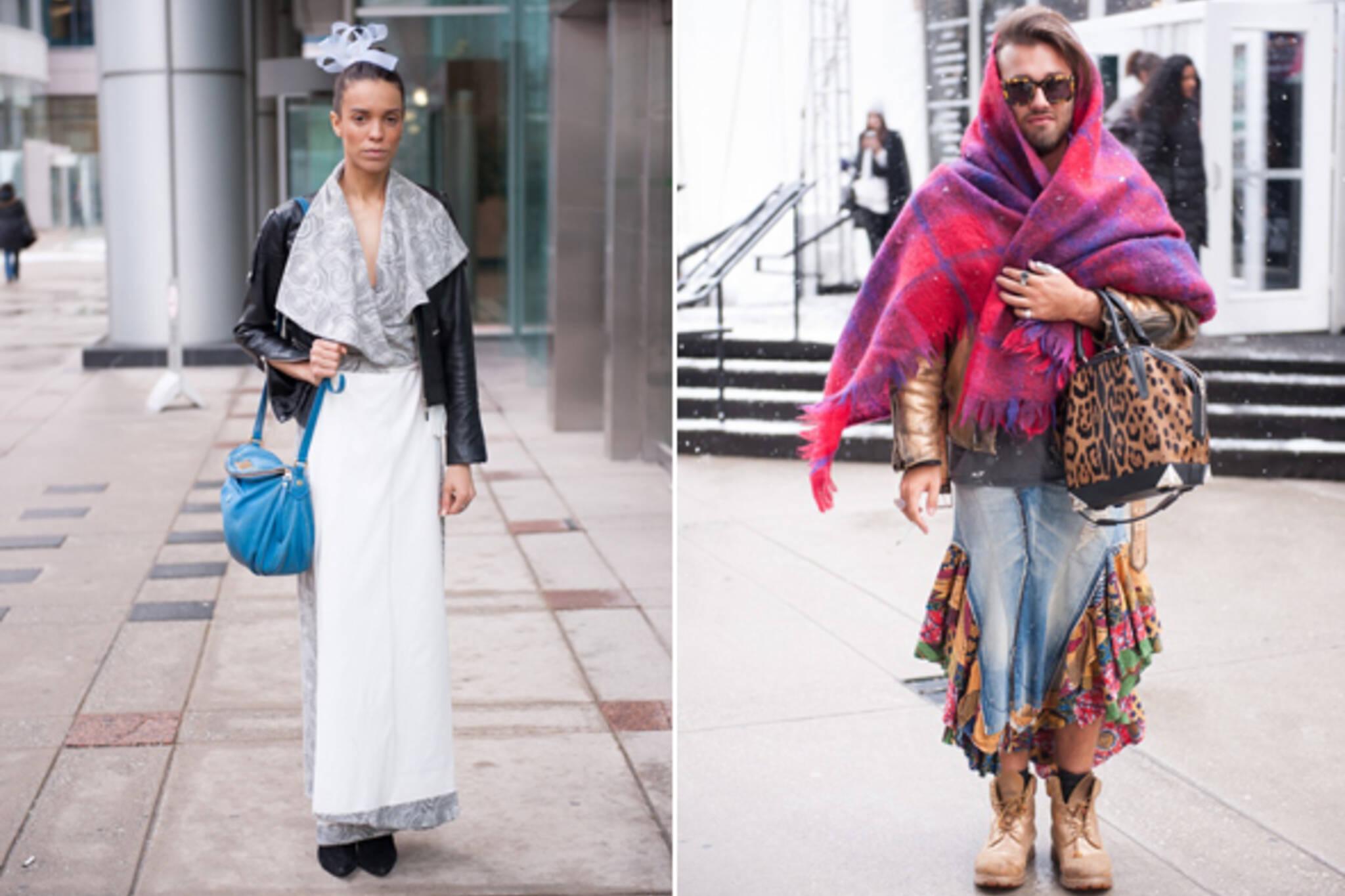 Street Style Toronto Fashion Week