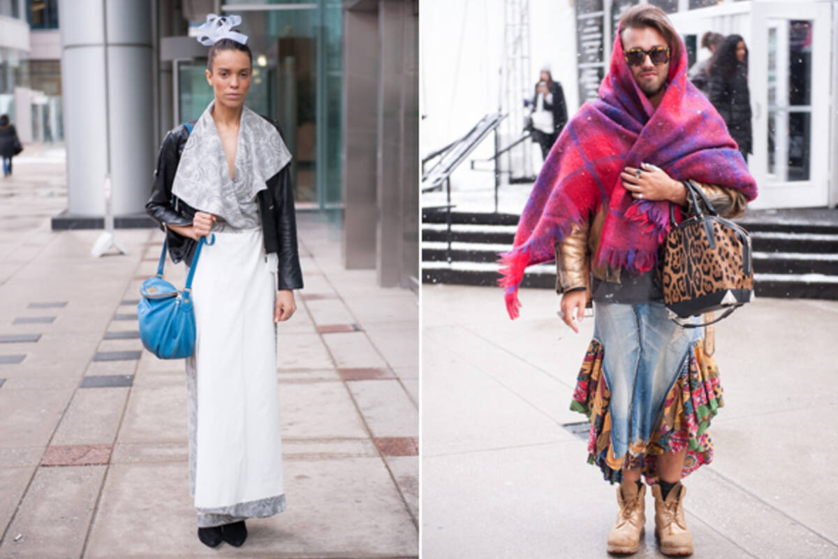 Street Style 60 Unique Looks From Toronto Fashion Week