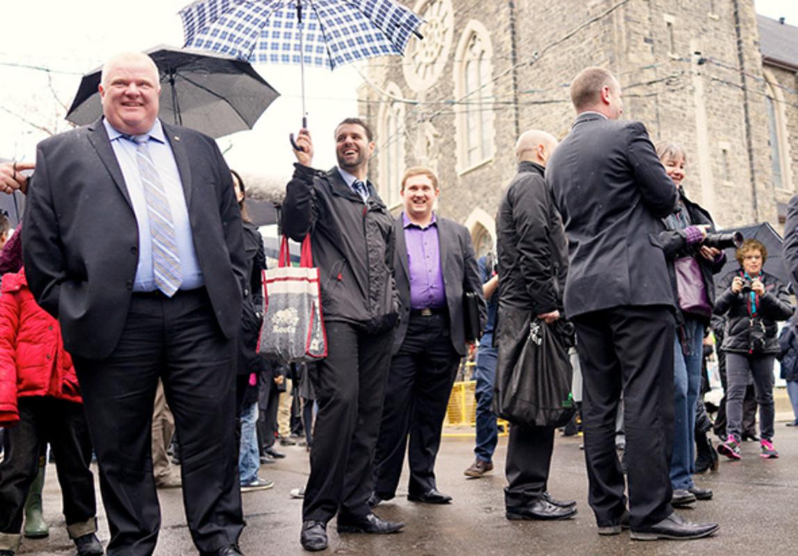 Mayoral Race Toronto