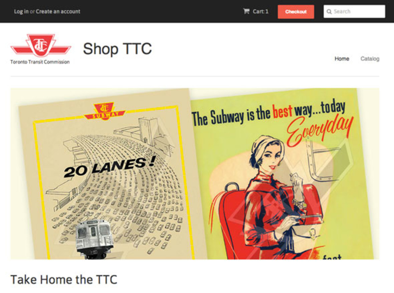 toronto ttc store