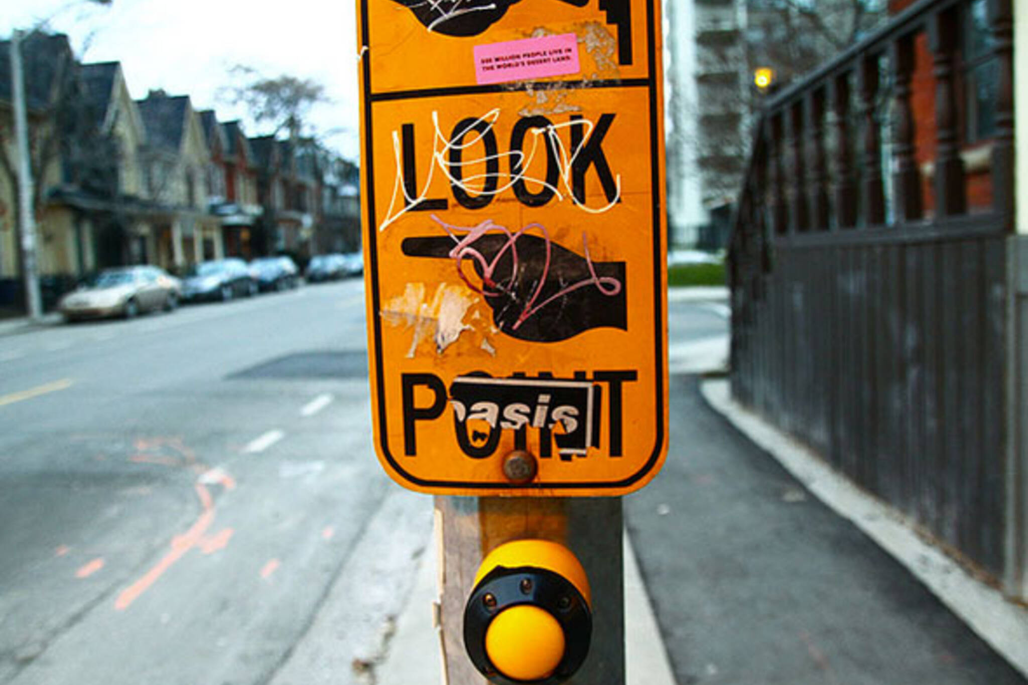 toronto crossing sign
