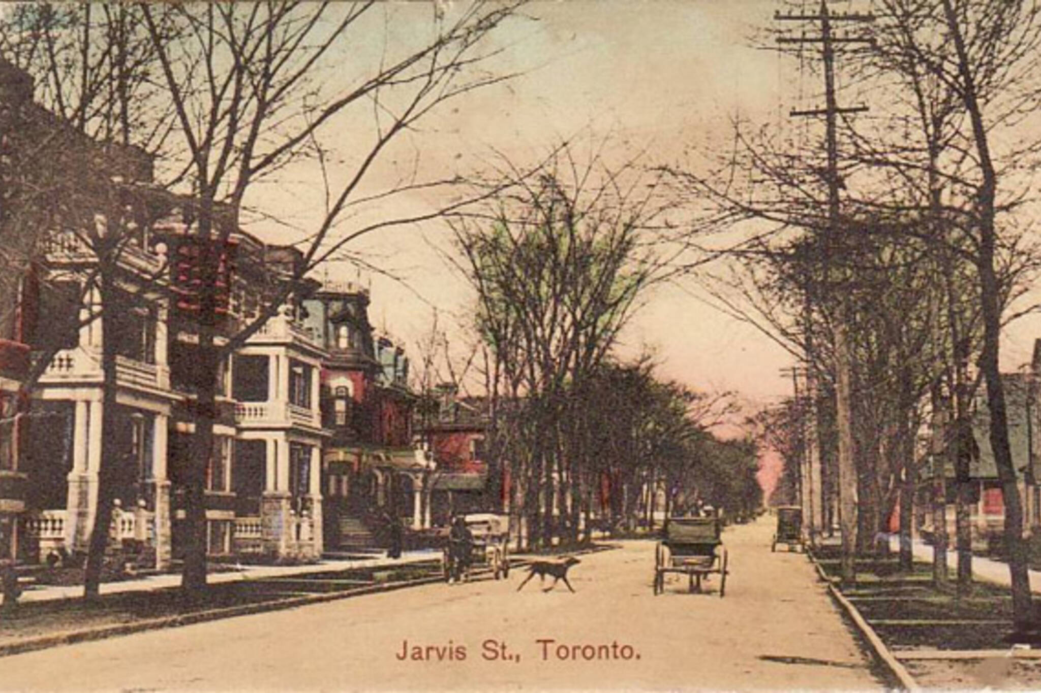 Jarvis Street Toronto History
