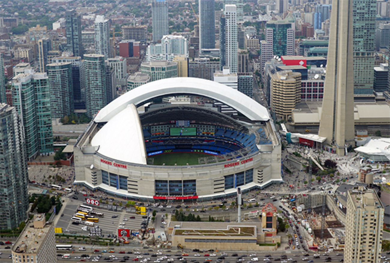 Red Blue Room Rogers Centre To Be Renamed Skydome