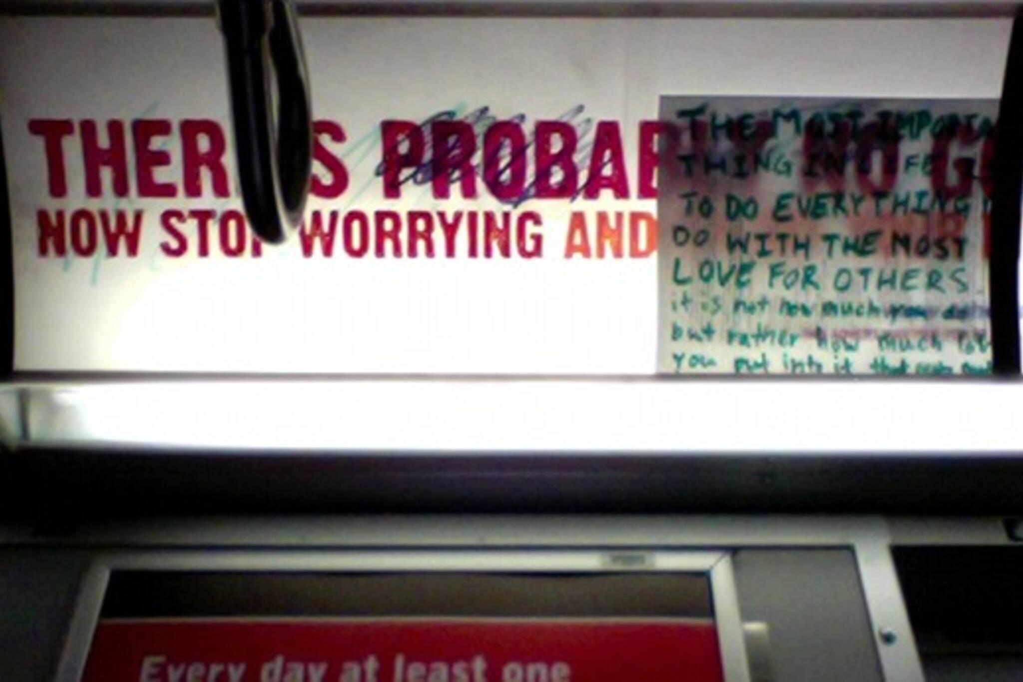 atheist ads toronto subway ttc