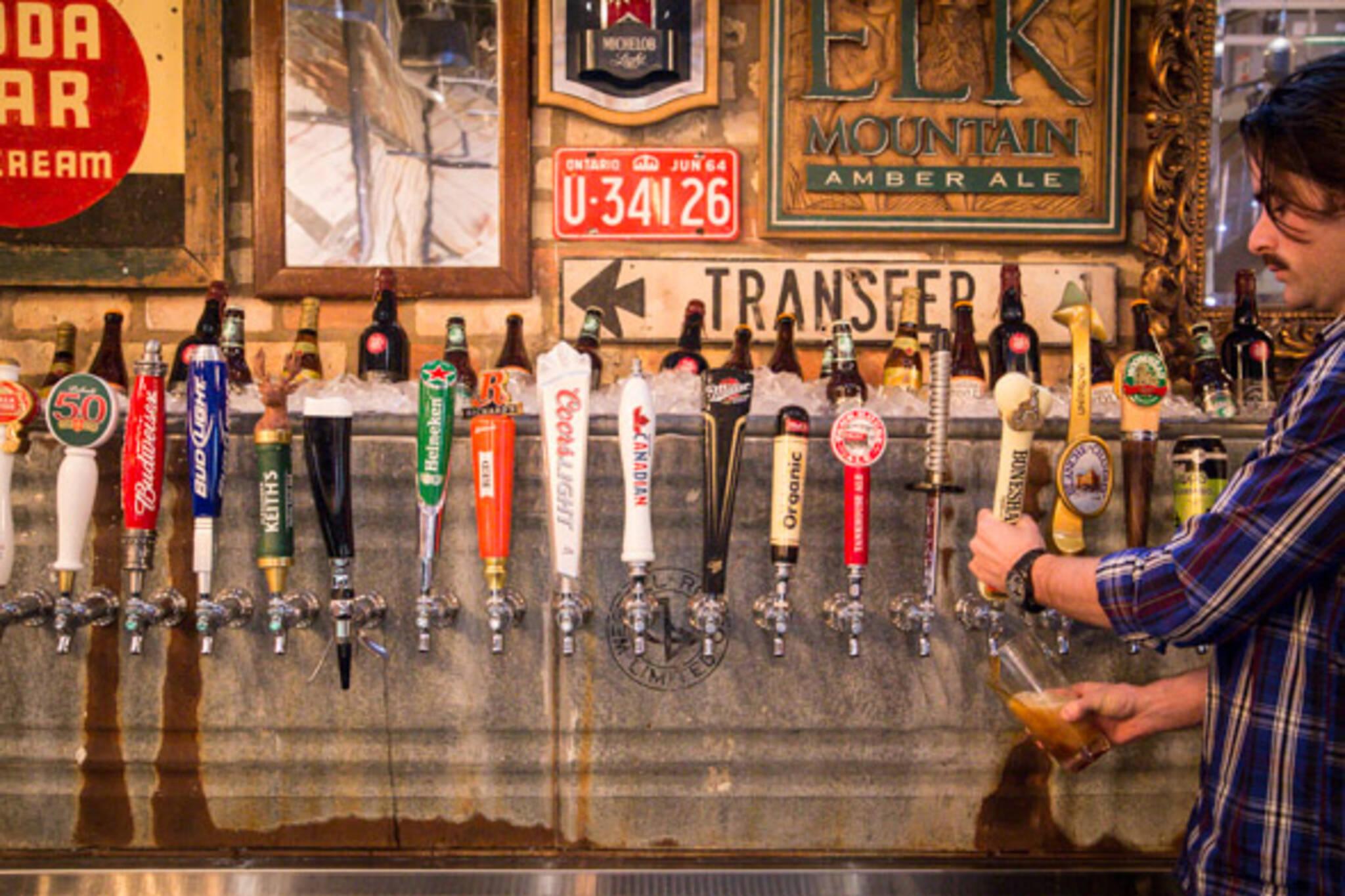 most beers taps toronto bars
