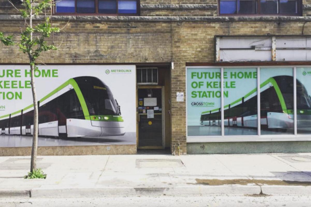 Crosstown LRT Toronto