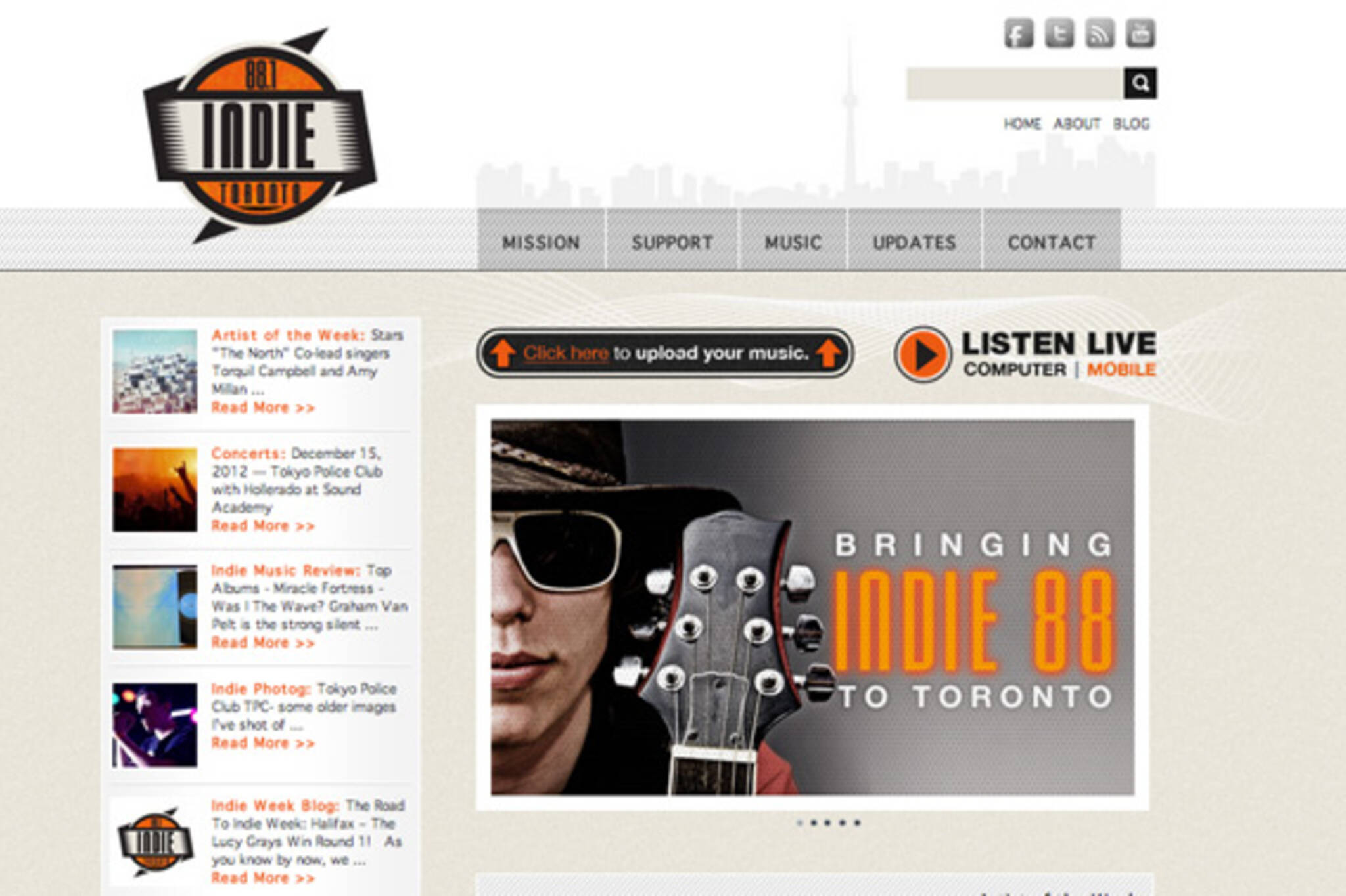Indie Toronto Radio 88.1