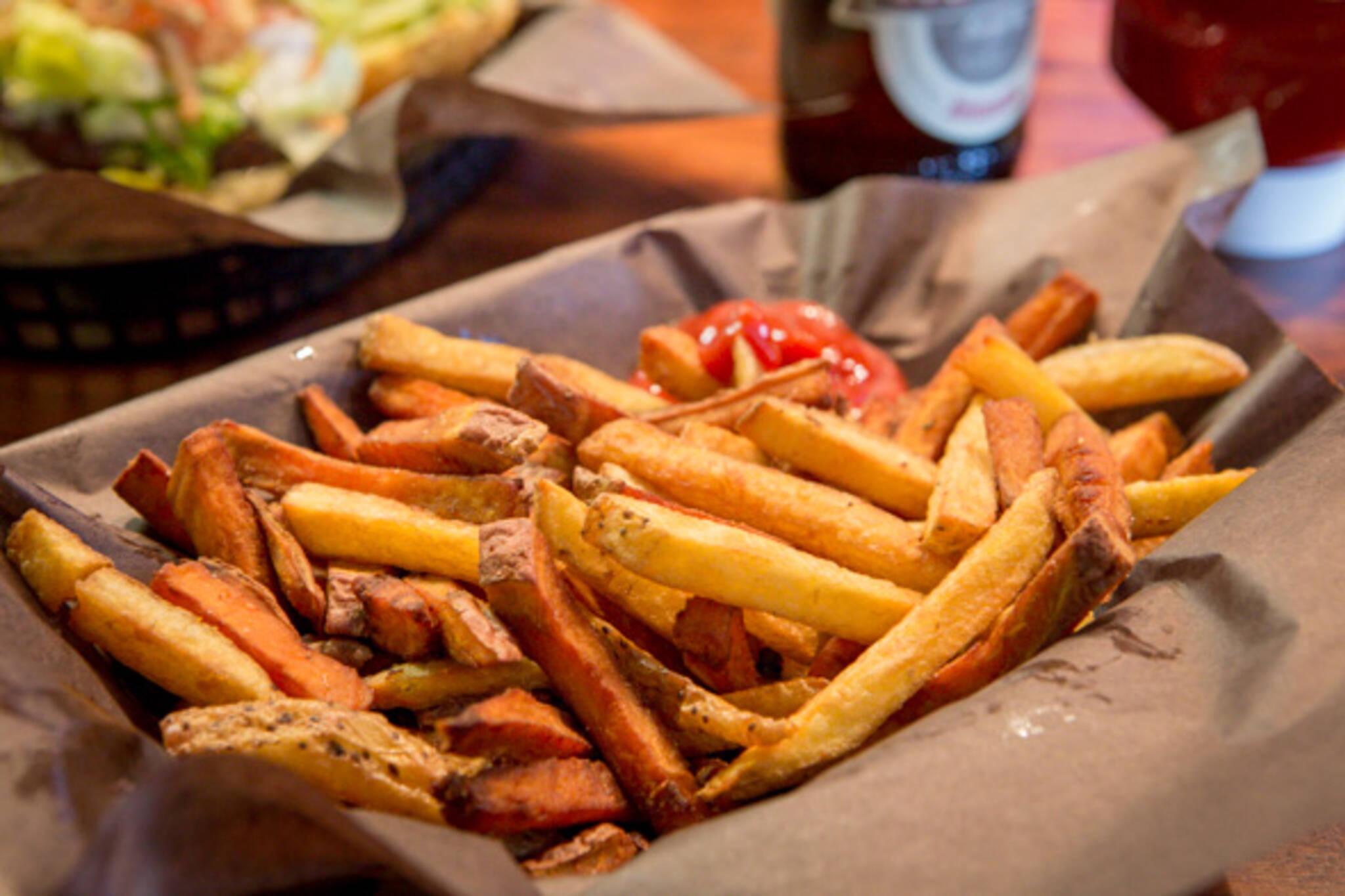 sweet potato fries toronto
