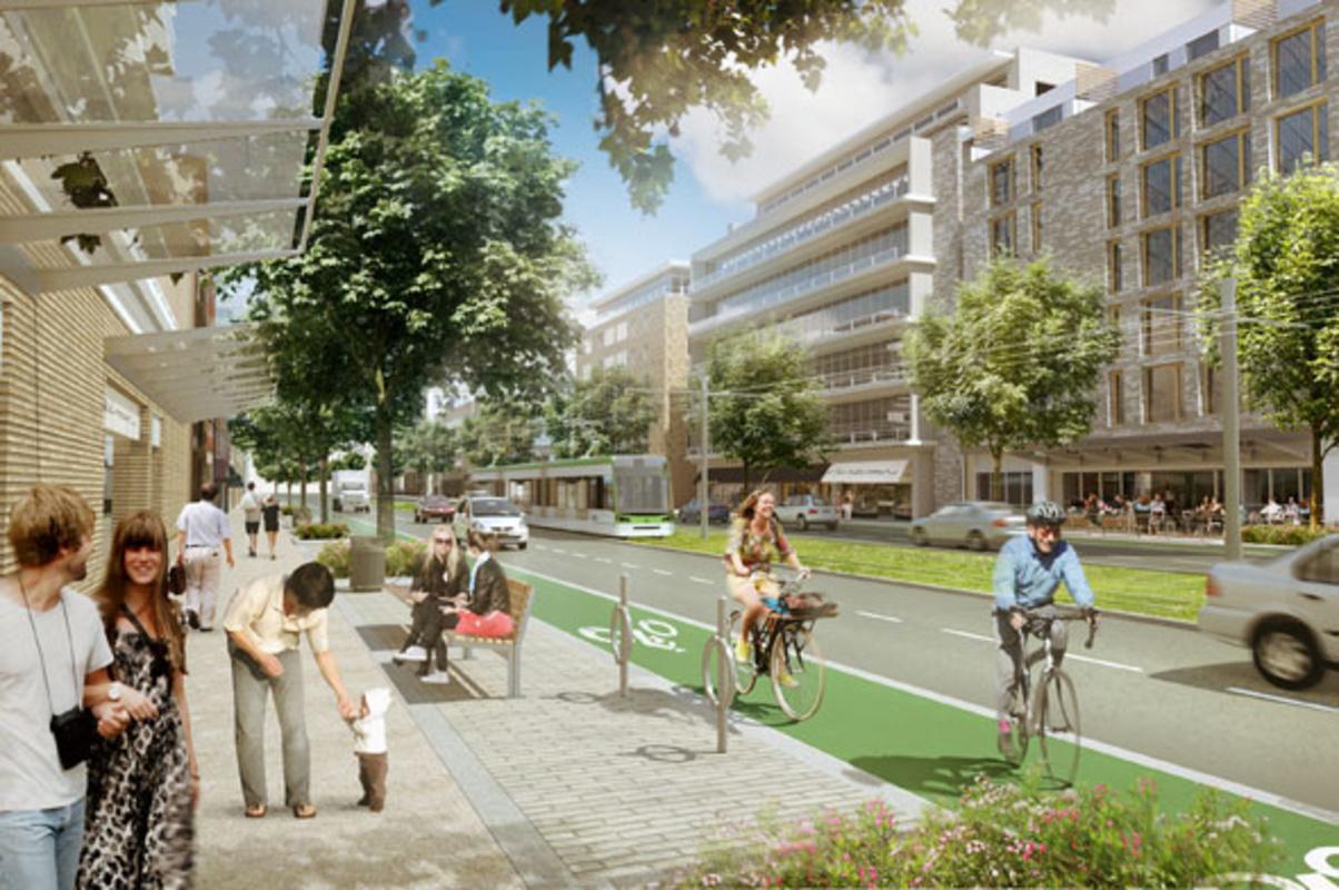 toronto eglinton bike lane