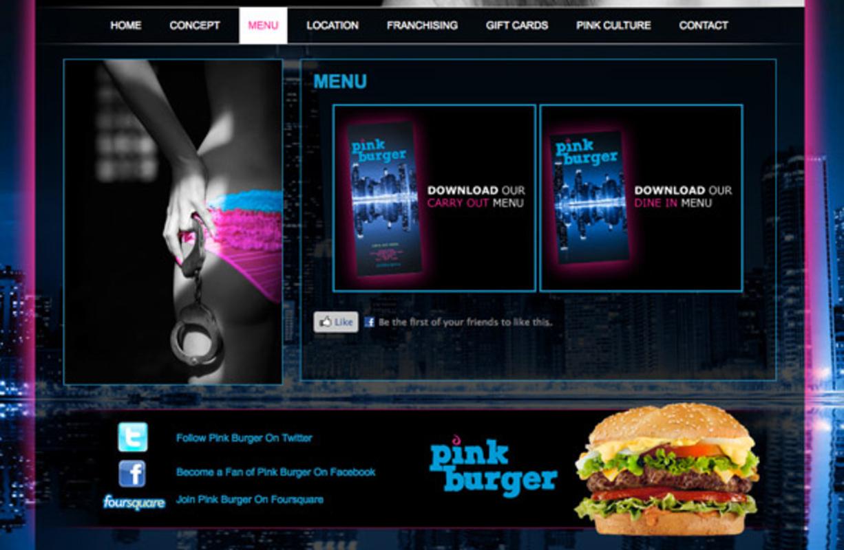 Pink Burger GTA