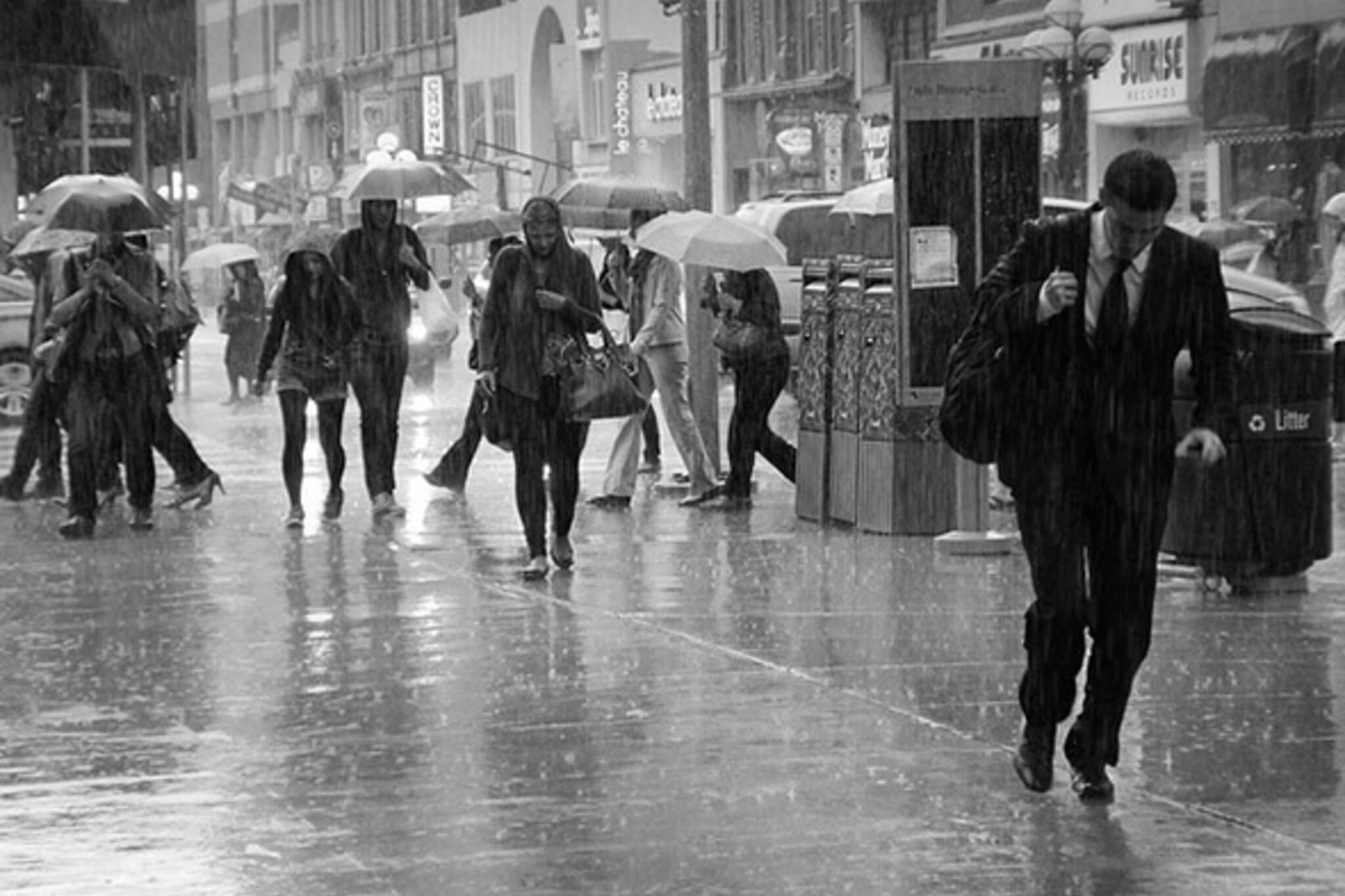 Rain all day