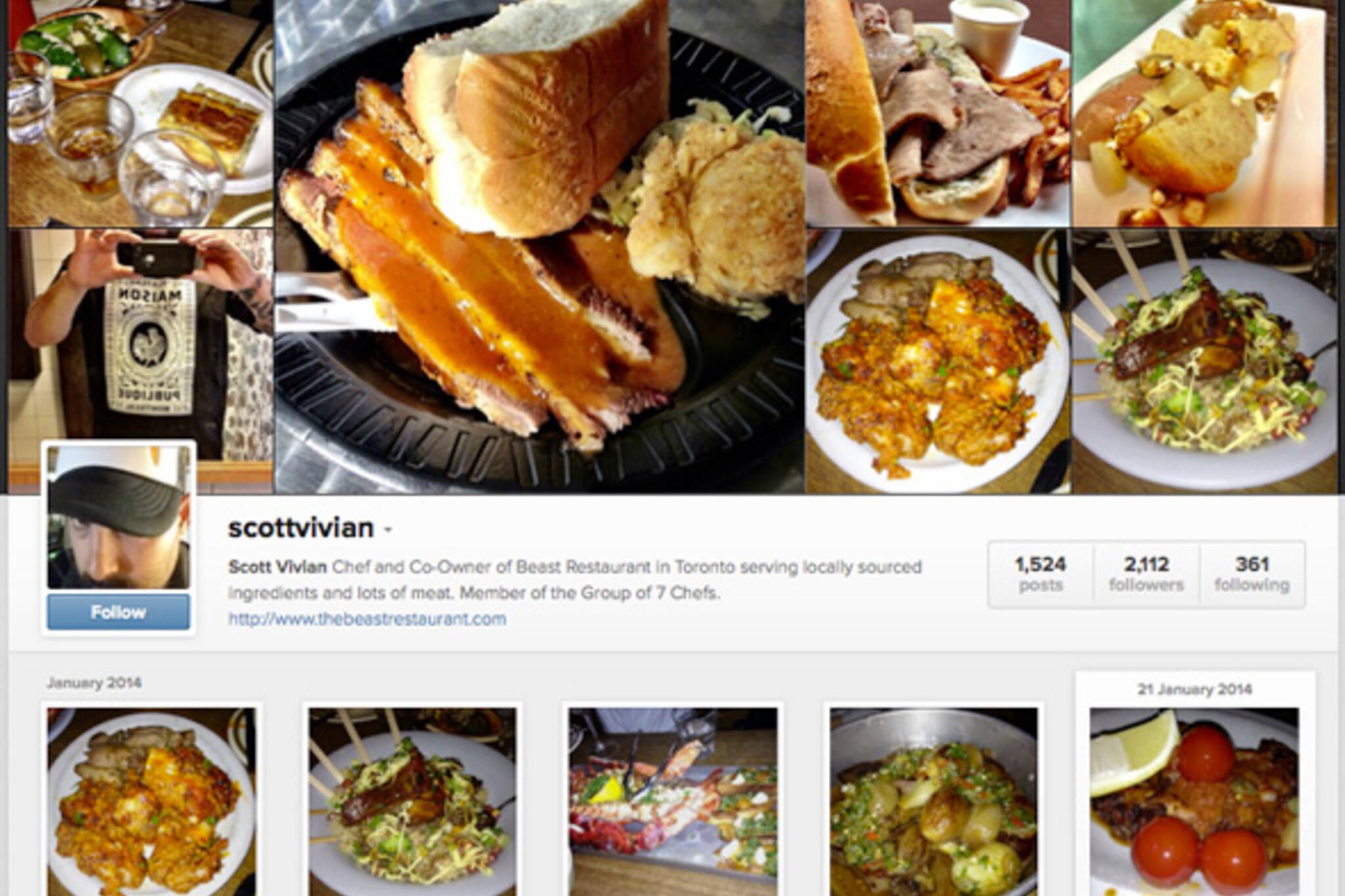 Food Instagram Accounts in Toronto