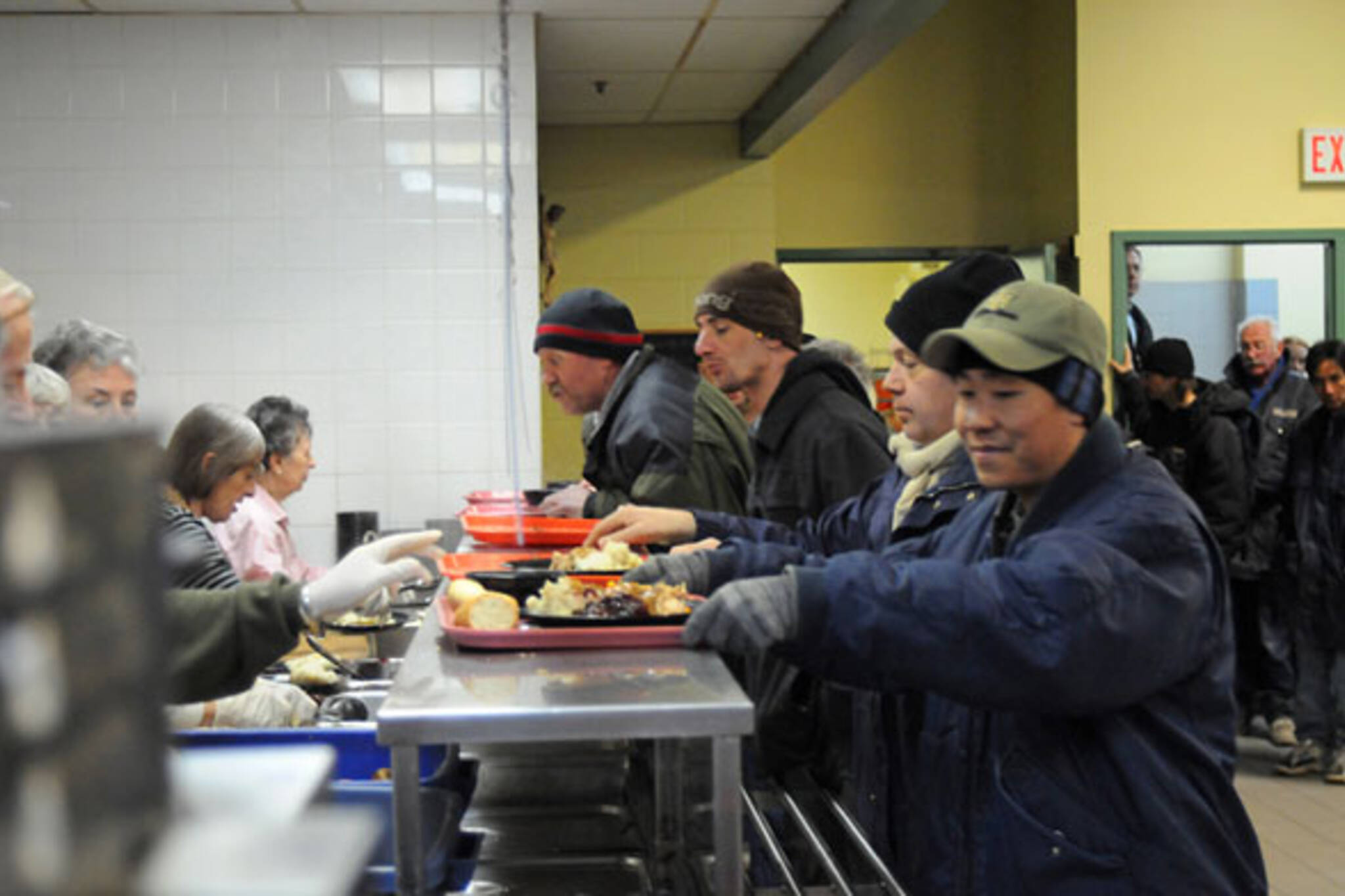 Soup Kitchen Vancouver Volunteer Christmas