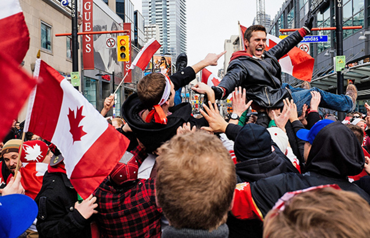 Toronto Olympic Hockey Gold