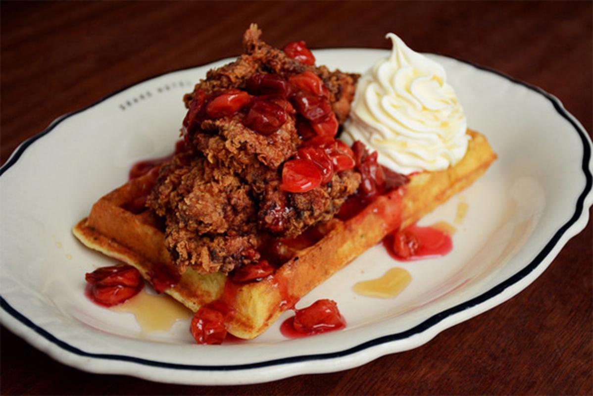chicken waffles toronto