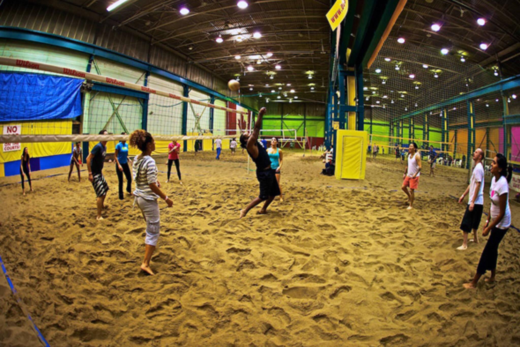 Indoor Volleyball Toronto