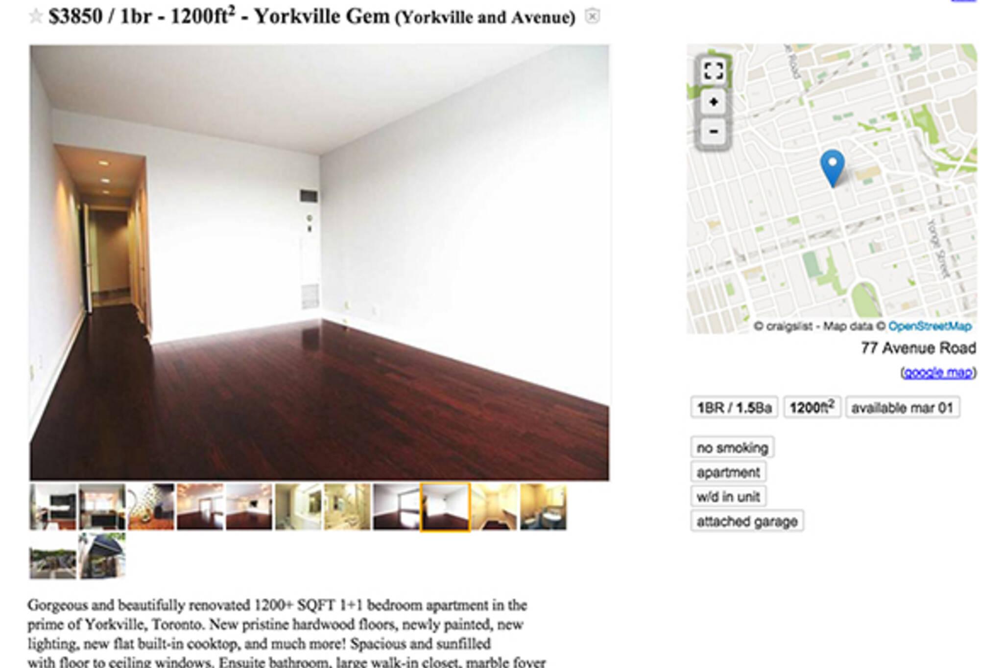 overpriced rent toronto