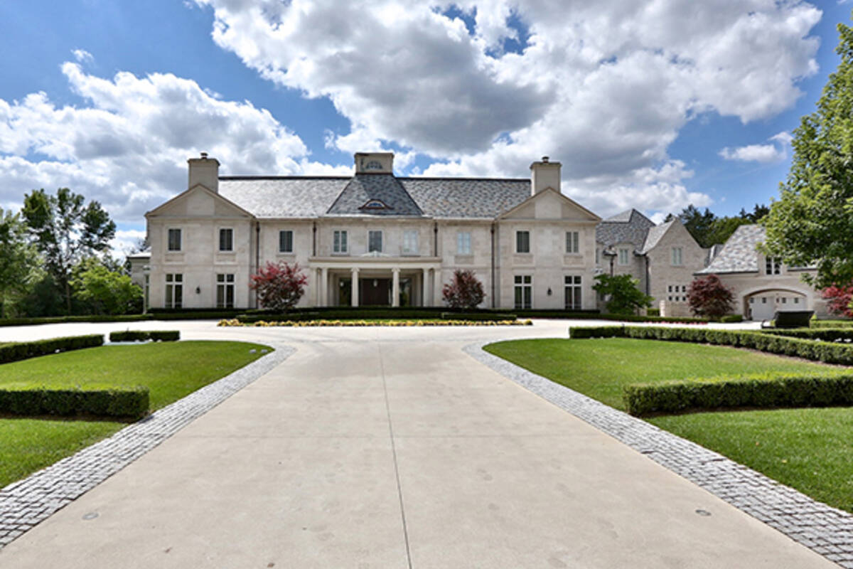The 5 most expensive homes for sale in toronto for Most expensive home for sale