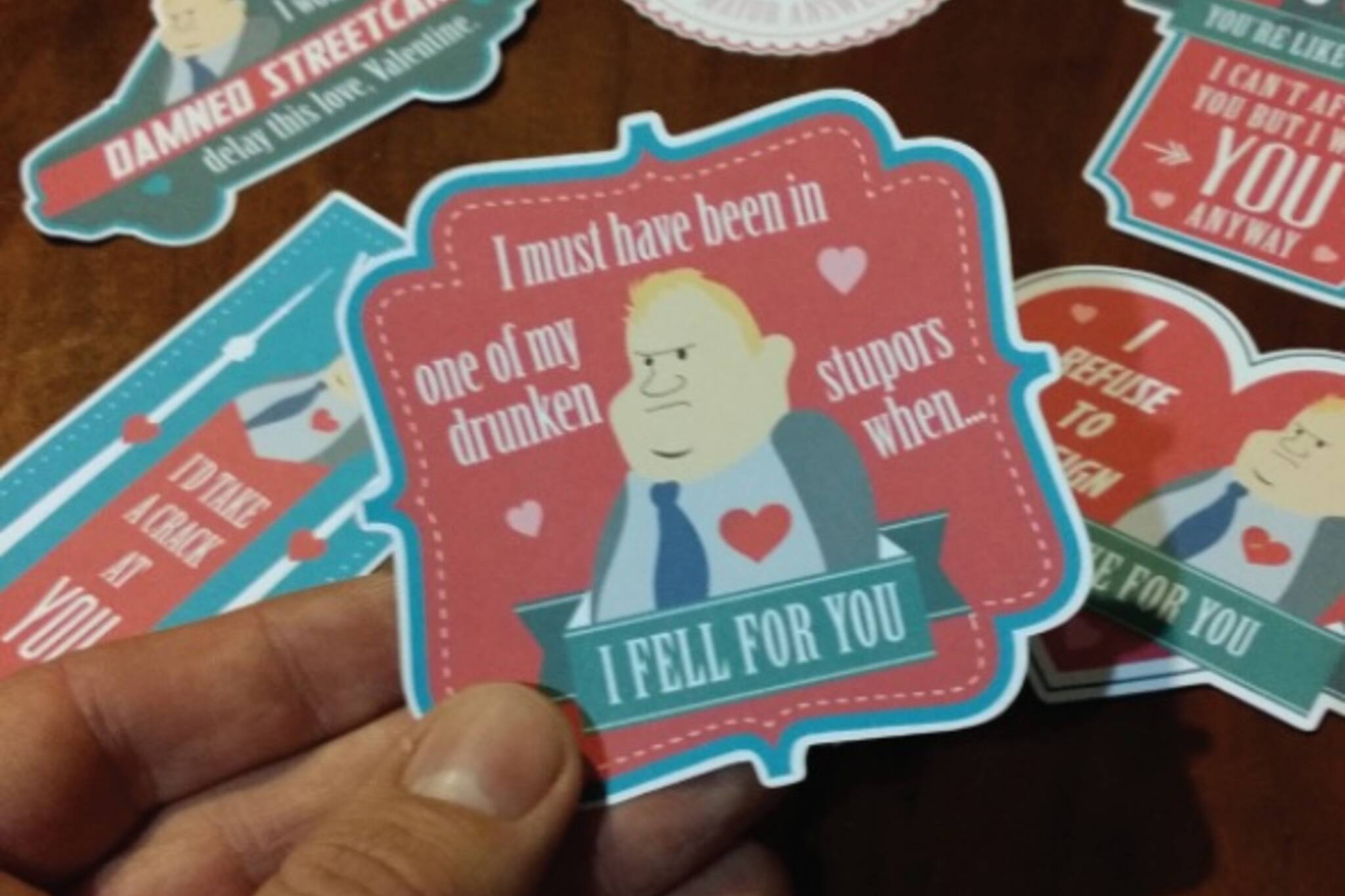 Rob Ford Valentines Card