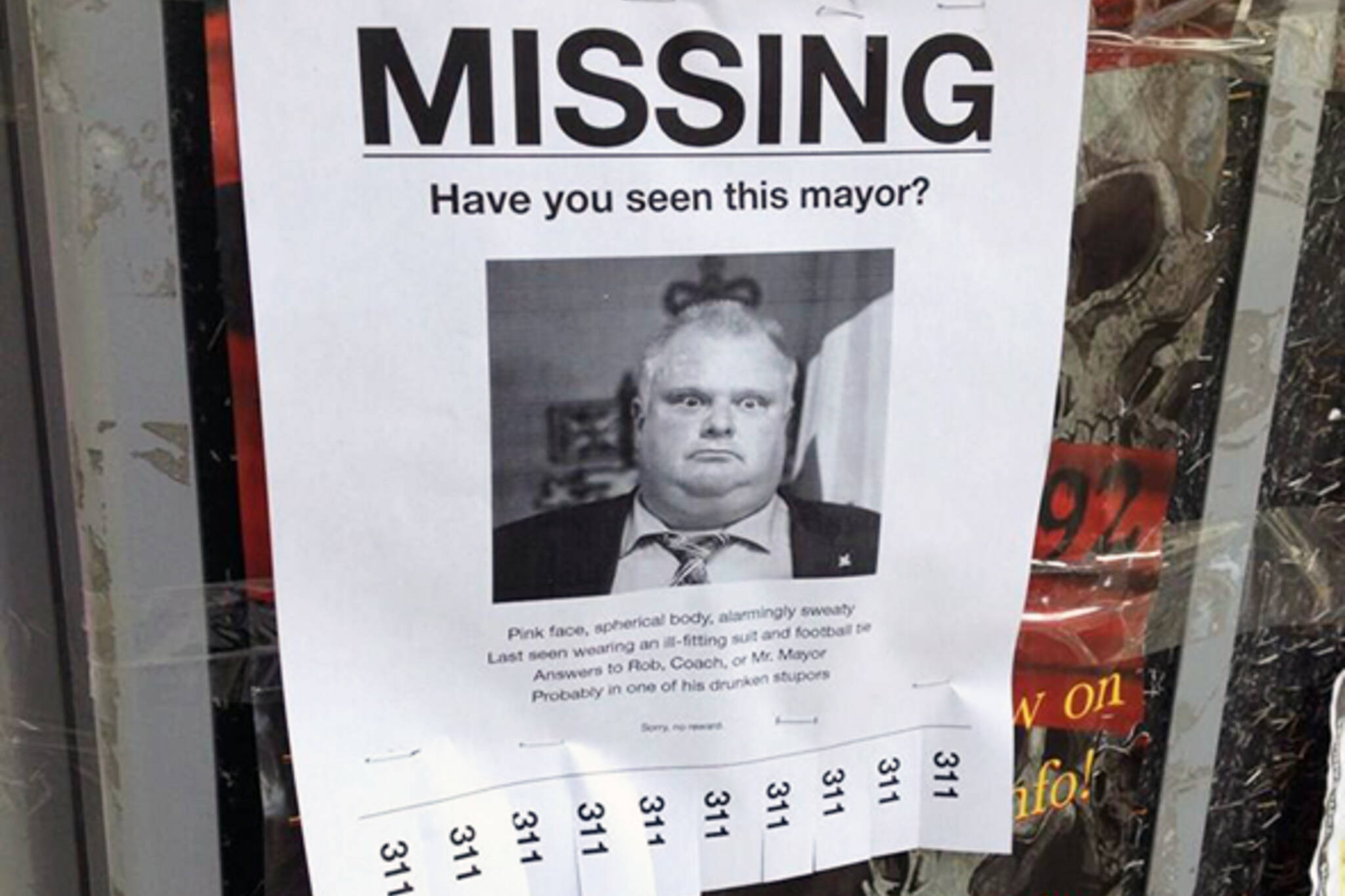 Rob Ford Missing