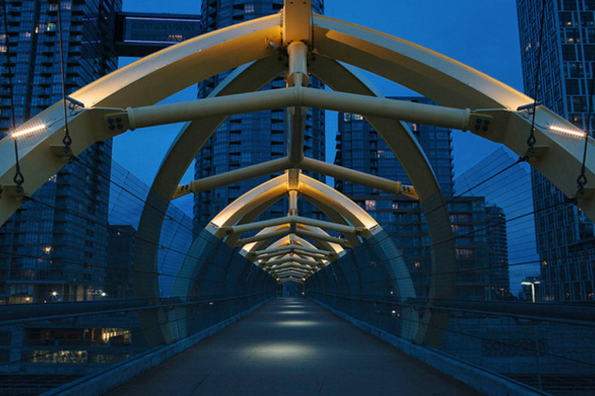Pedestrian Bridge Toronto