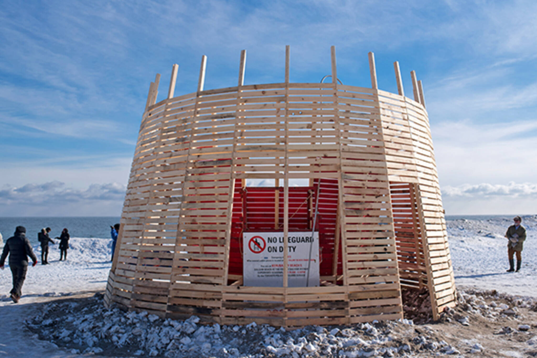 winter stations public art toronto
