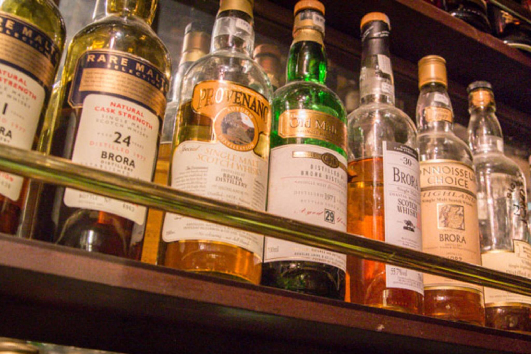whisky bars toronto