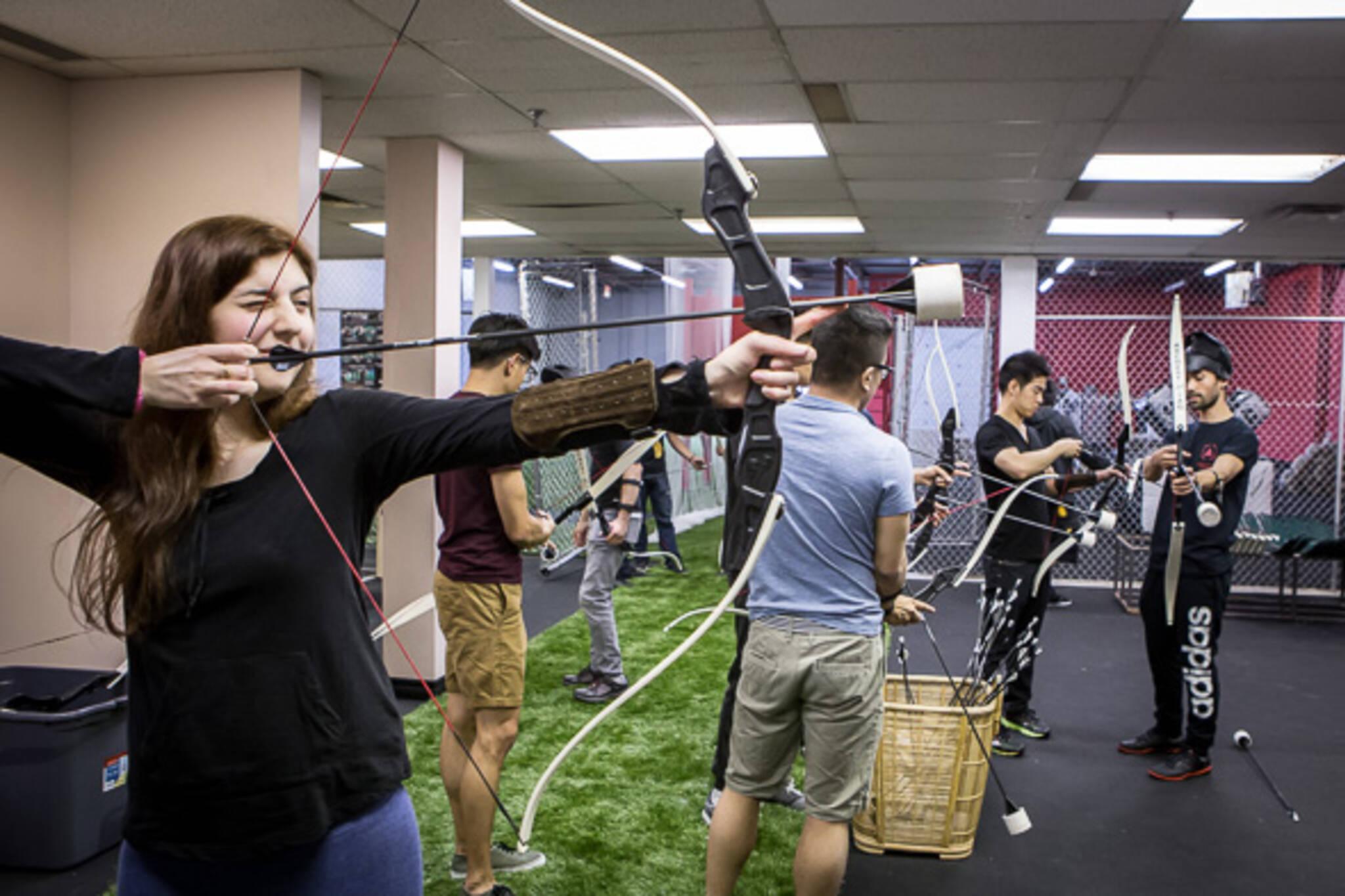 archery tag toronto