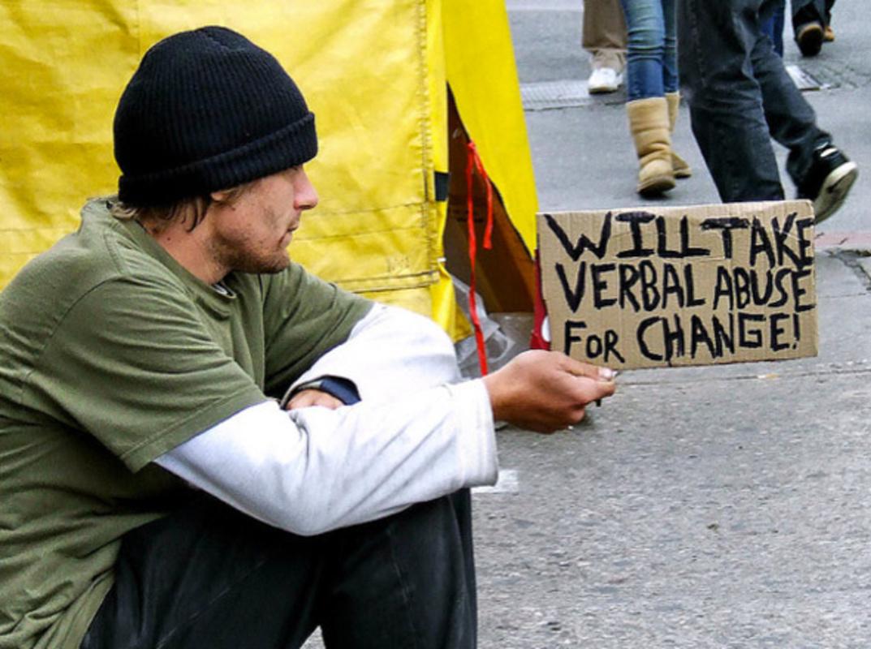 Toronto outlaw Panhandling
