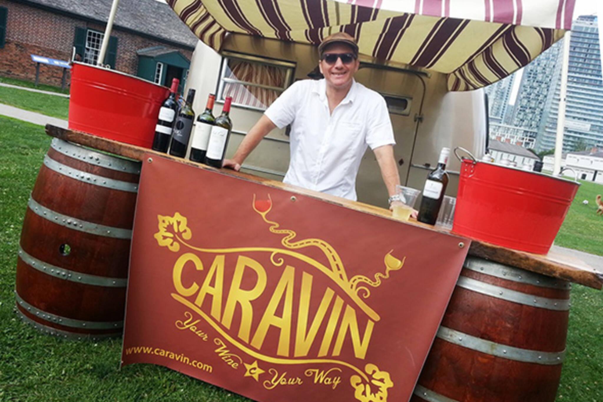 Caravin Mobile Wine Bar