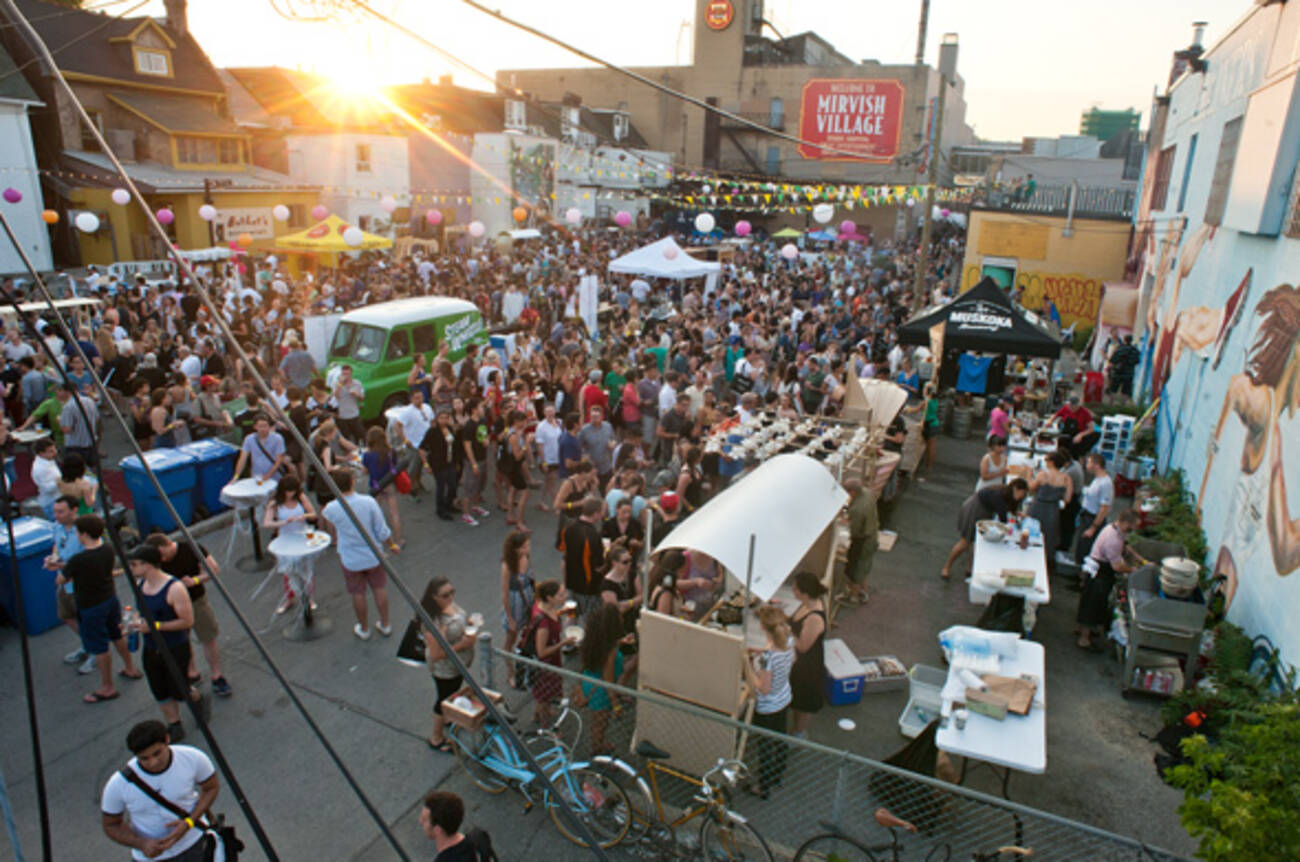 The Stop's Night Market draws a huge, hungry crowd