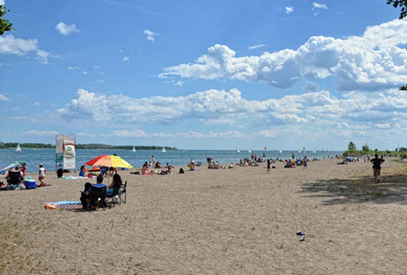 Toronto Beaches Cherry Beach
