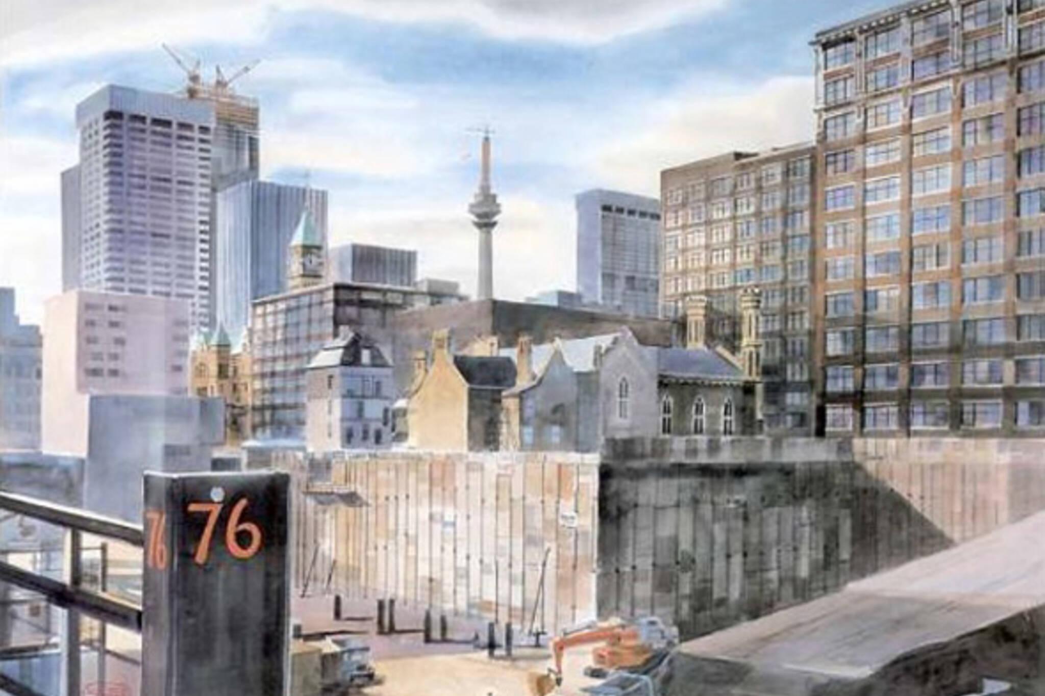 Iconic Toronto Paintings