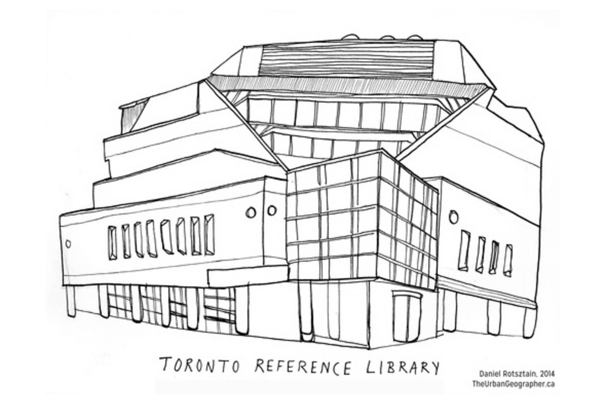 Toronto public libraries artist