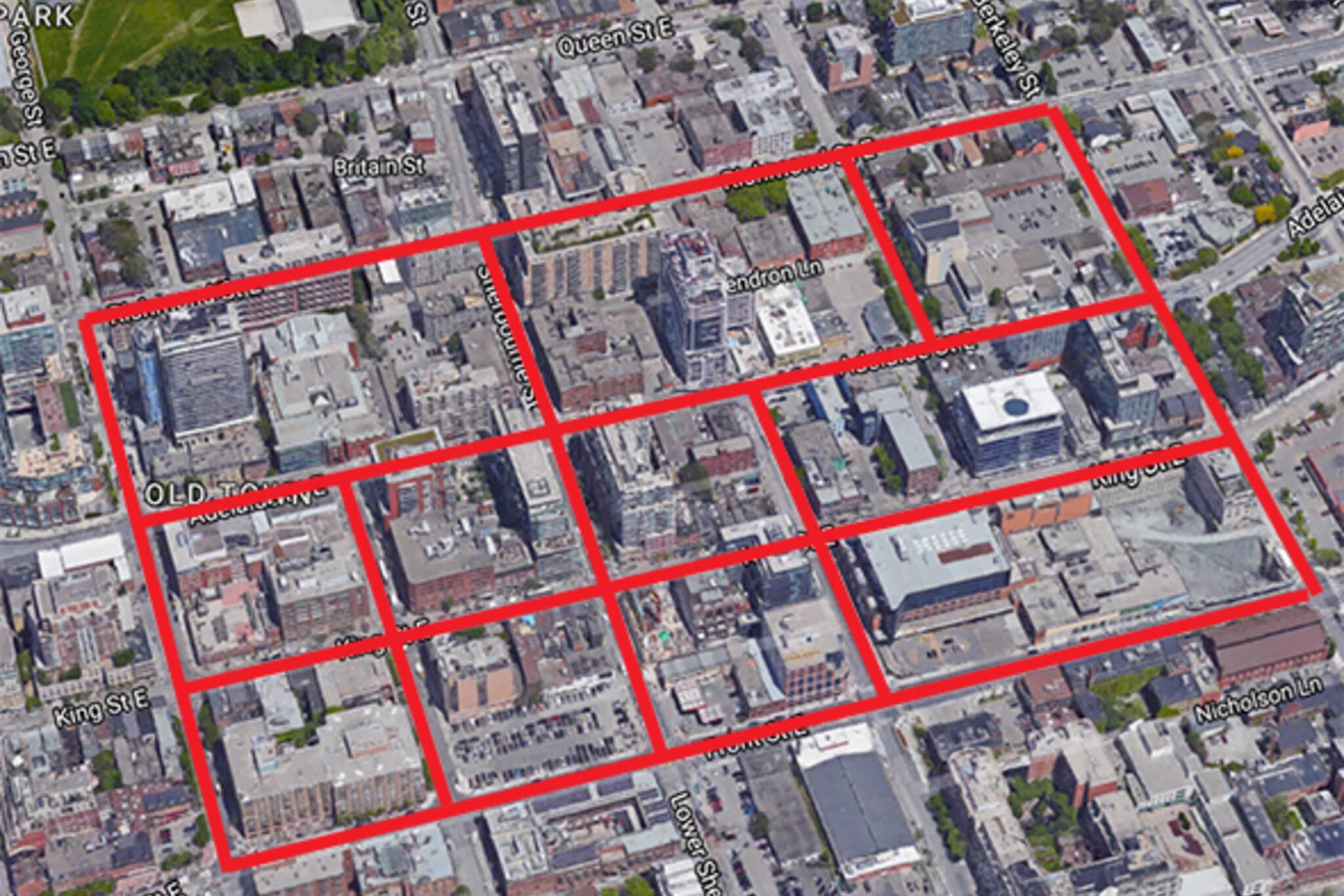 toronto street grid