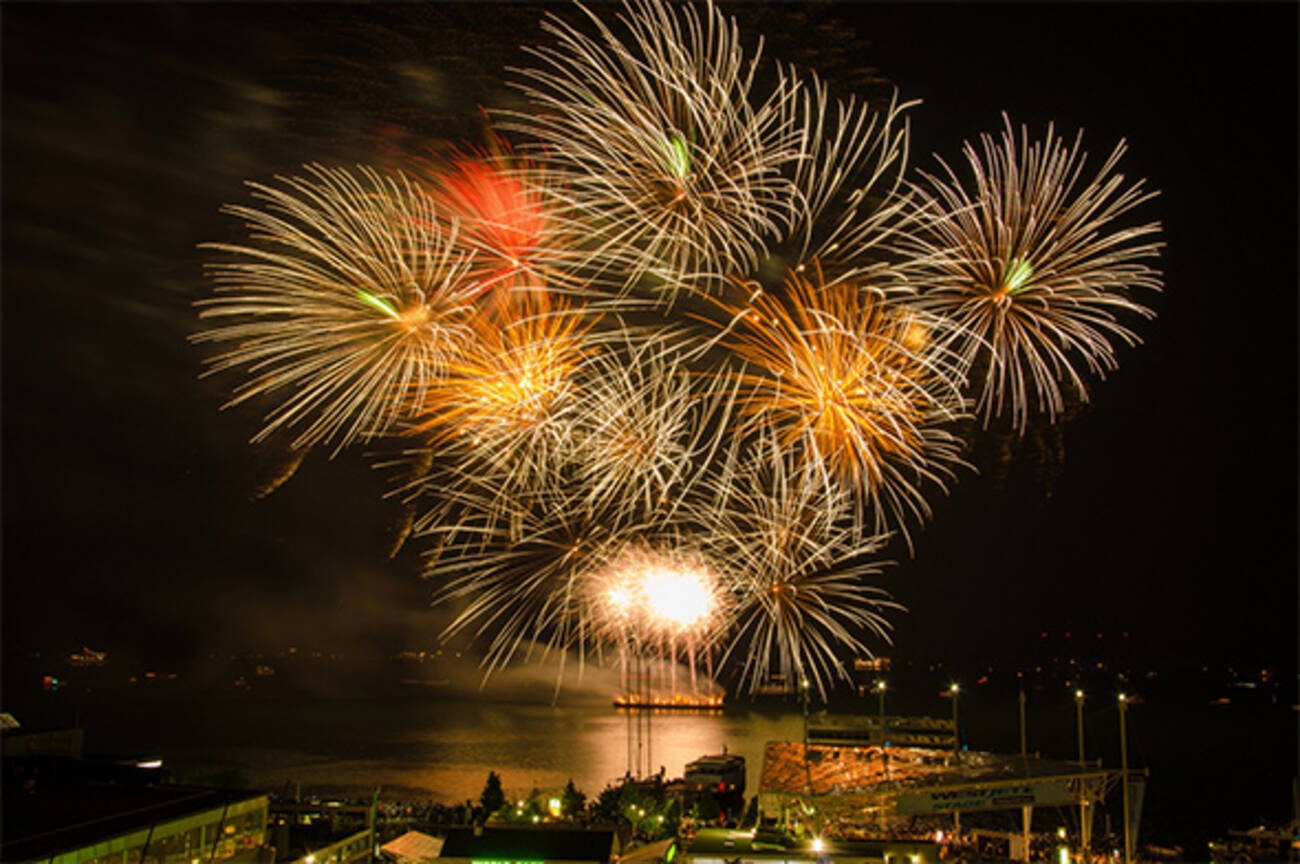 The Top 10 Canada Day Fireworks In Toronto For 2015